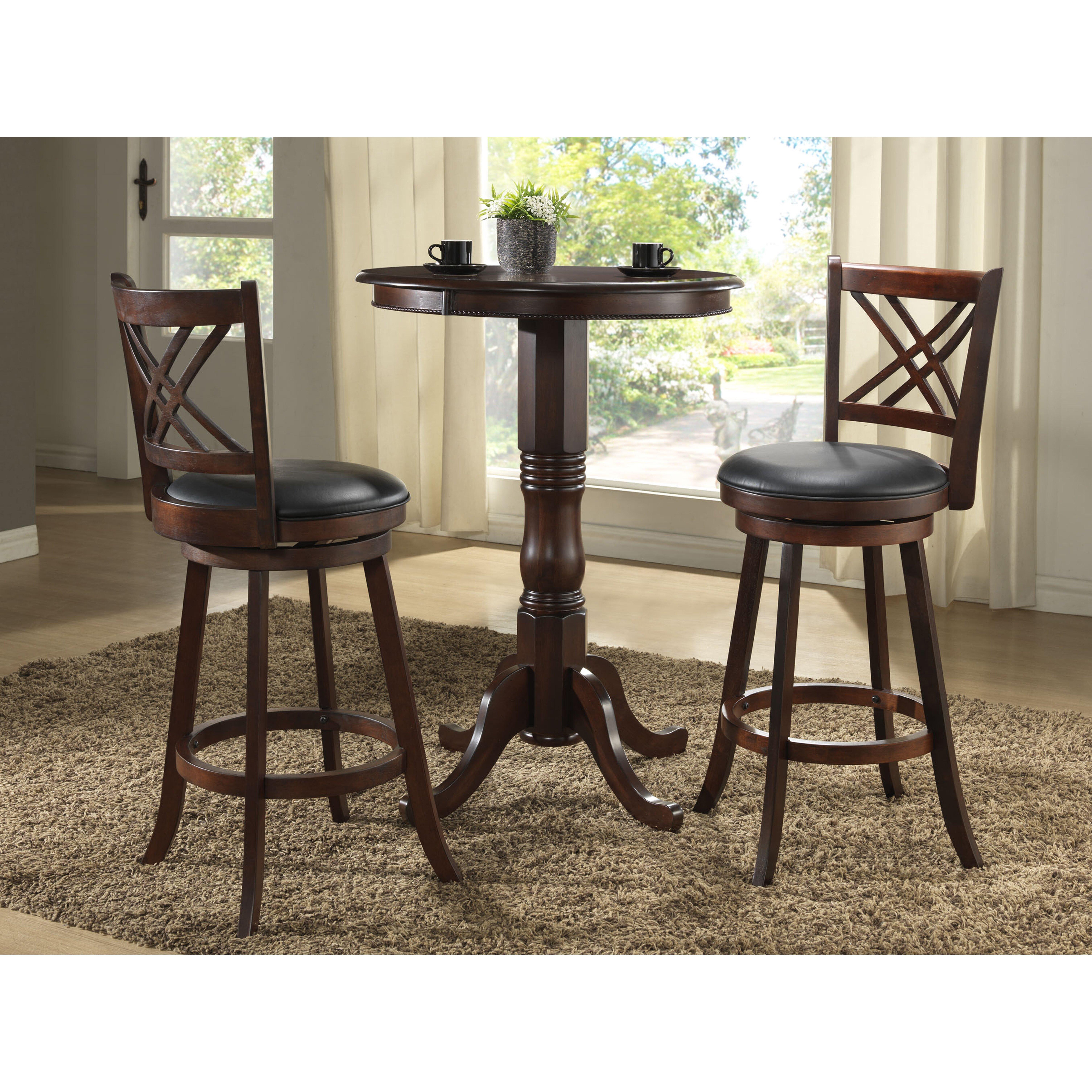 Eci Furniture Distressed 29 Swivel Bar Stool Reviews Wayfair