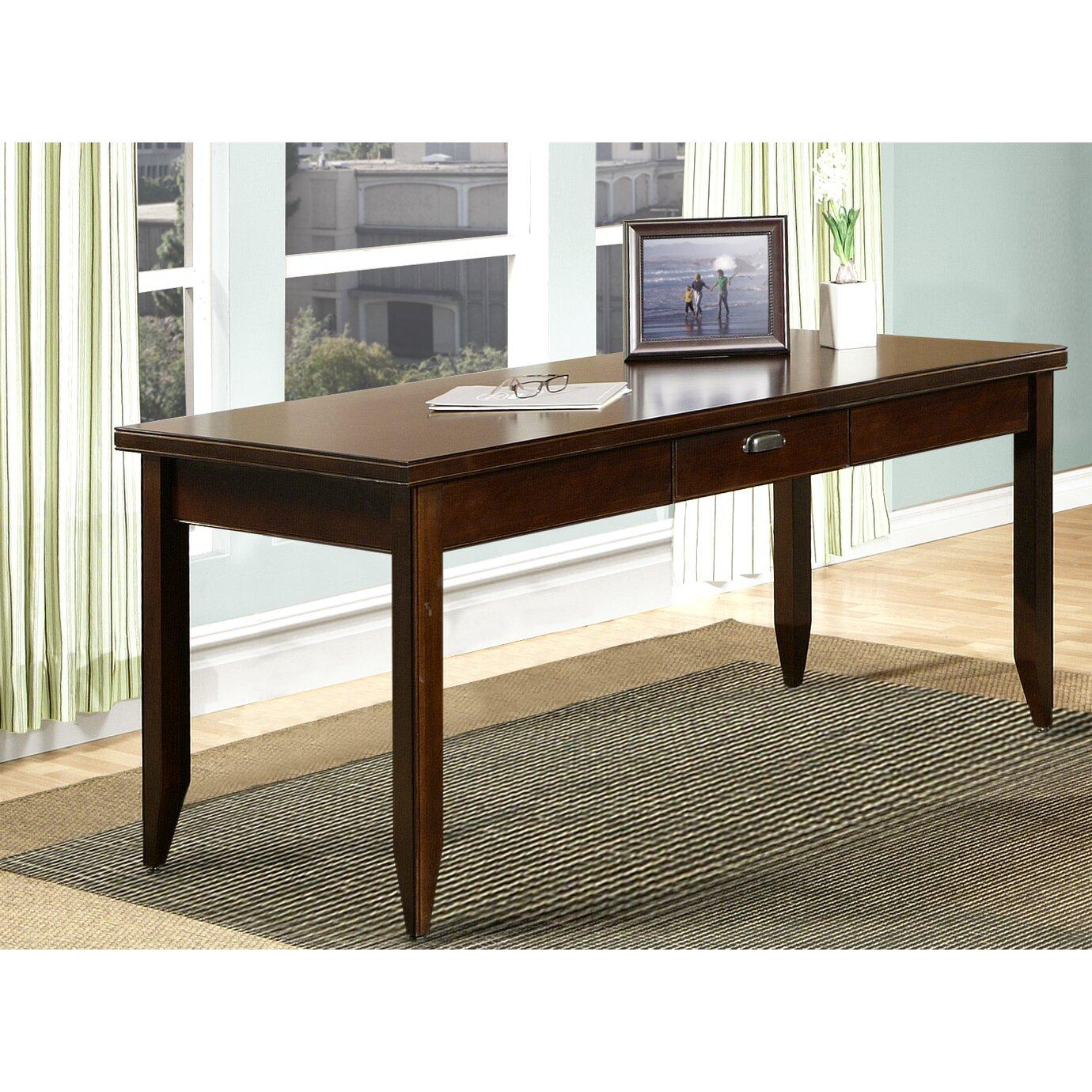 Aspenhome Warm Cherry Executive Modular Home Office: Kathy Ireland Home By Martin Furniture Tribeca Loft L-Desk
