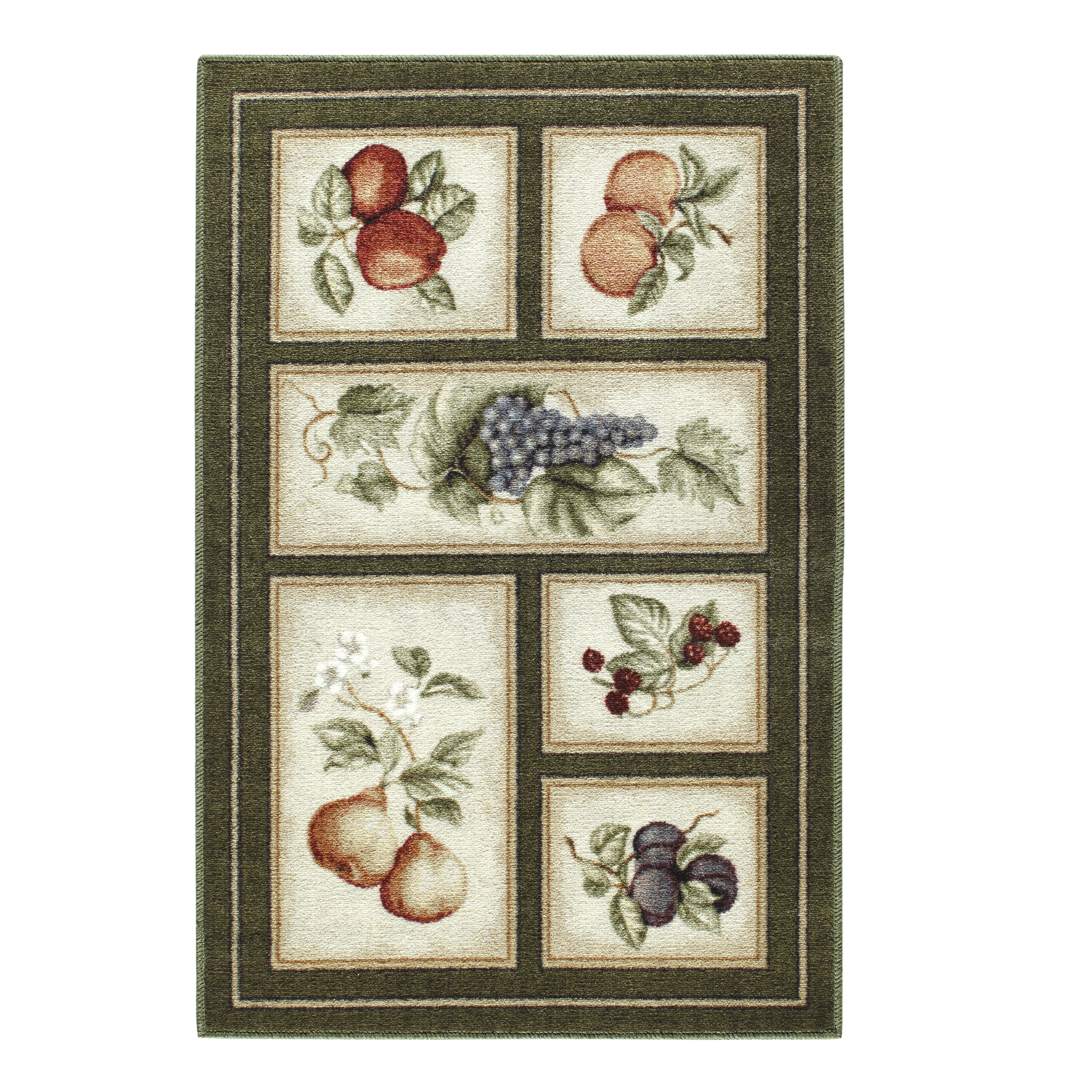 Jcpenney Area Rugs Brumlow Mills Eden's Bounty Olive Green Area Rug & Reviews ...