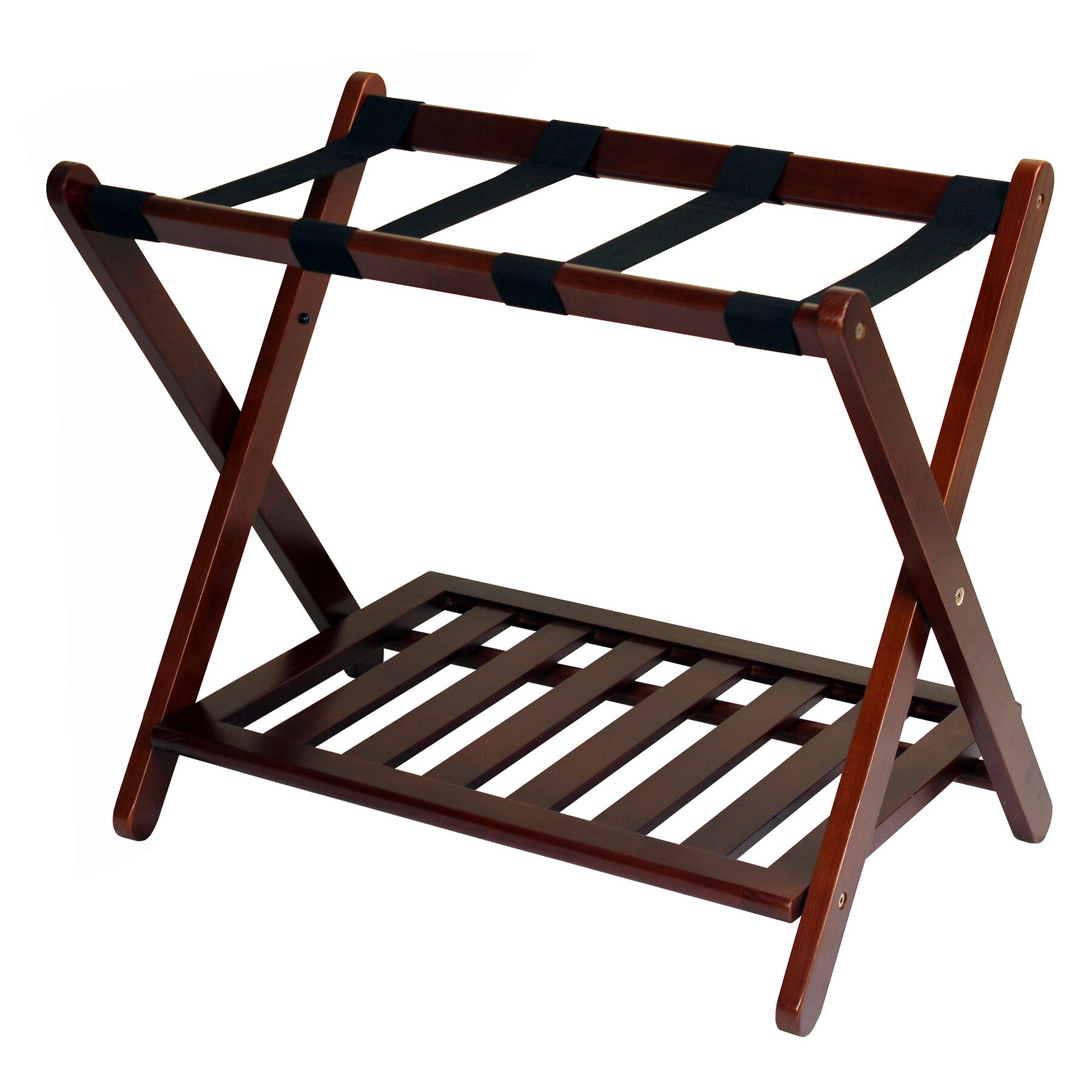 Casual Home Calvin Luggage Rack Reviews Wayfair