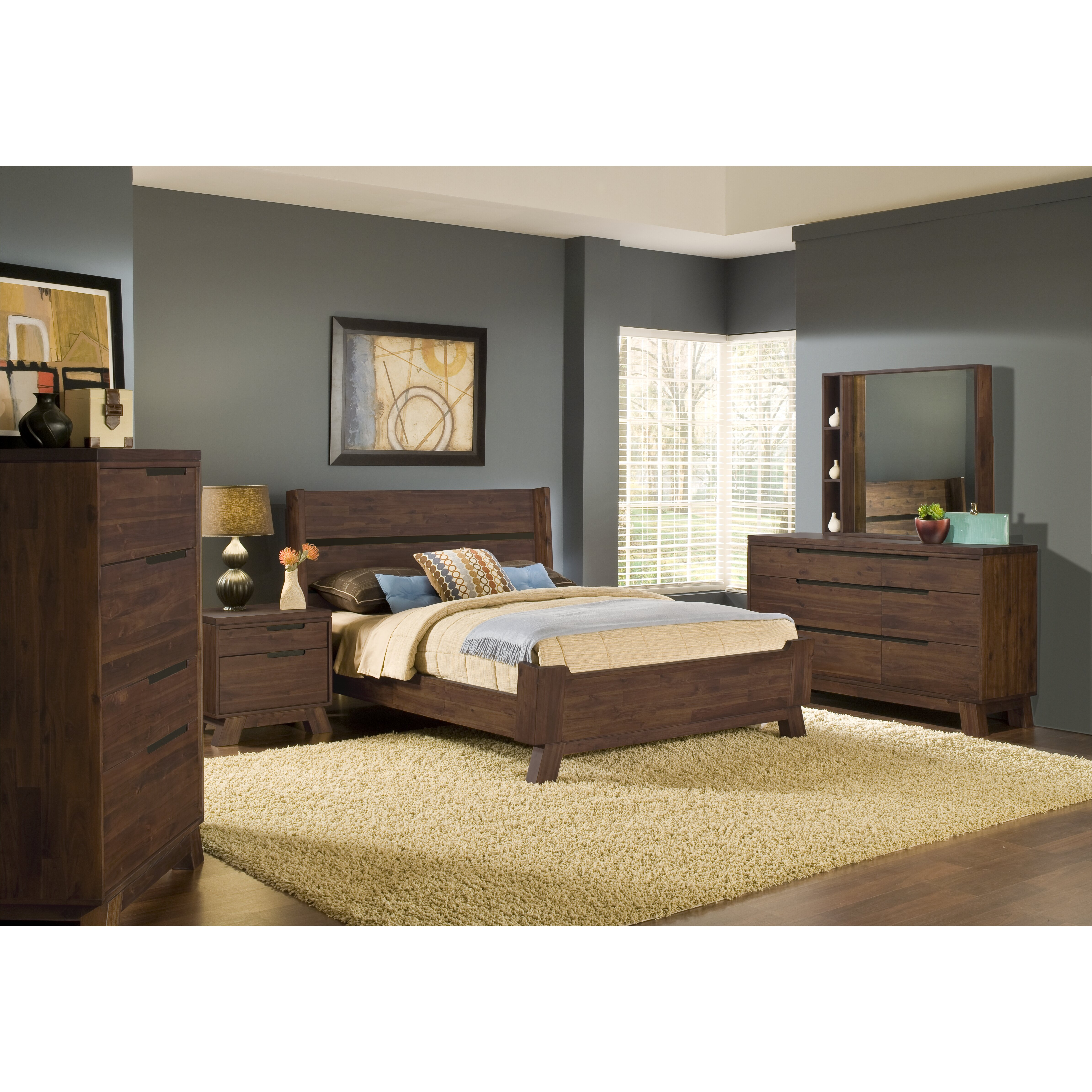 Modus Portland Platform Bed Reviews Wayfair