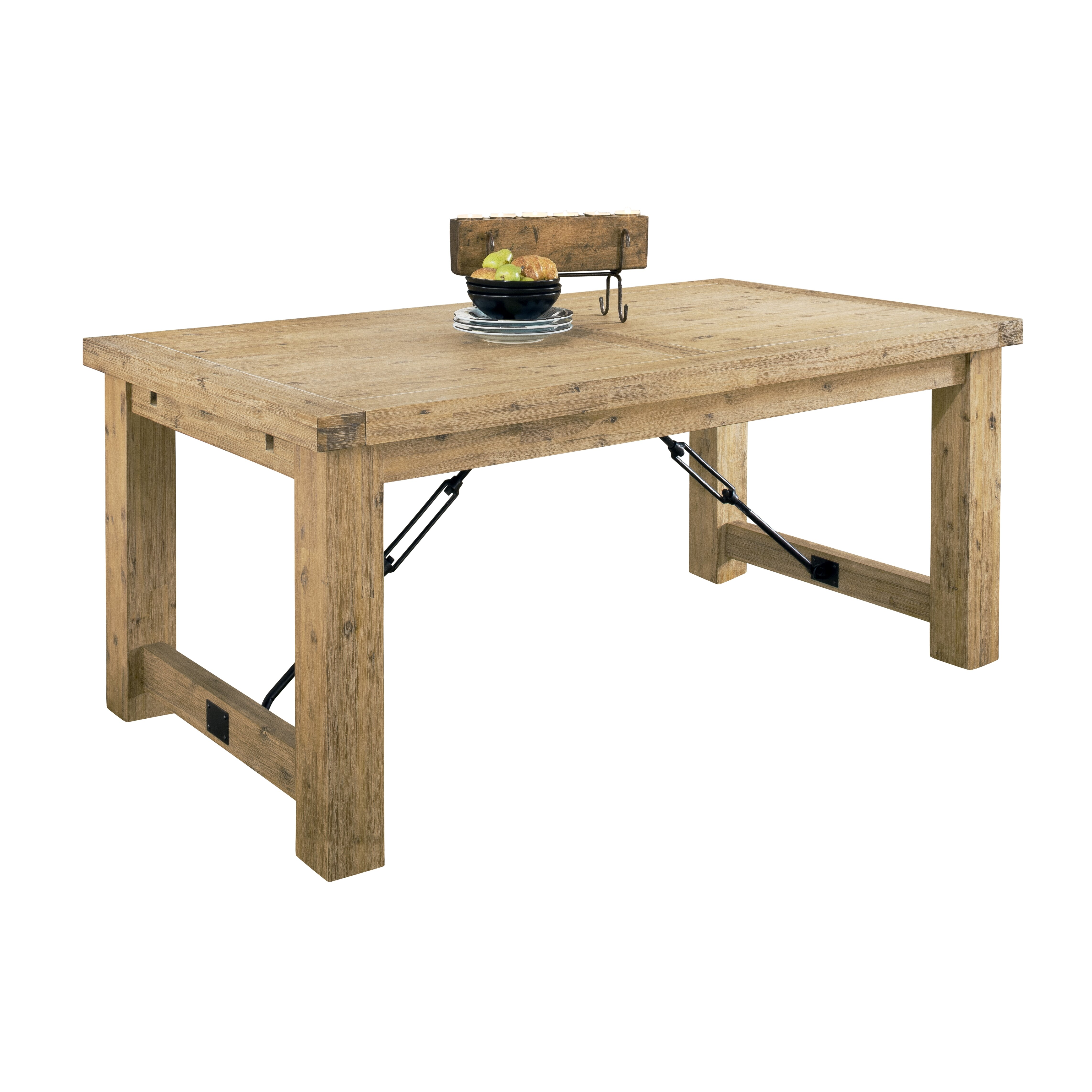 Modus autumn extendable dining table reviews wayfair for Extendable dining table