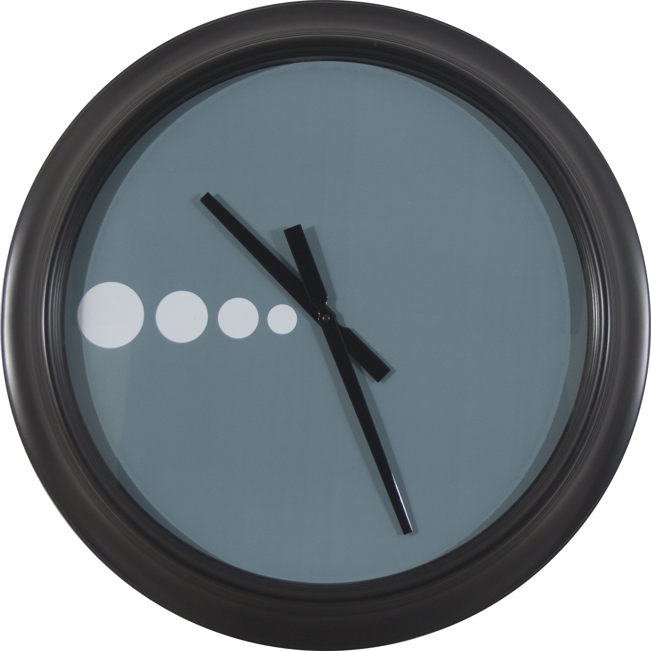 Decor therapy oversized 24 contemporary wall clock - Oversized modern wall clock ...