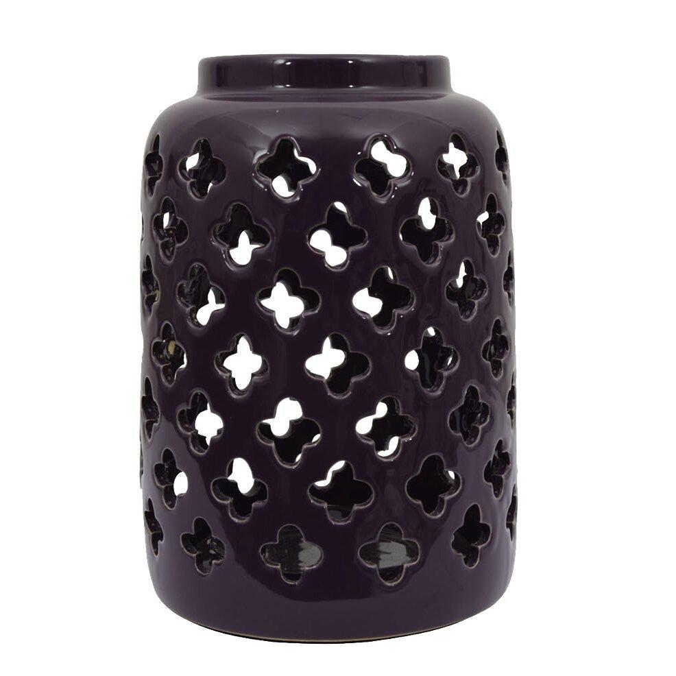 Decor Therapy Ceramic Lantern Amp Reviews Wayfair