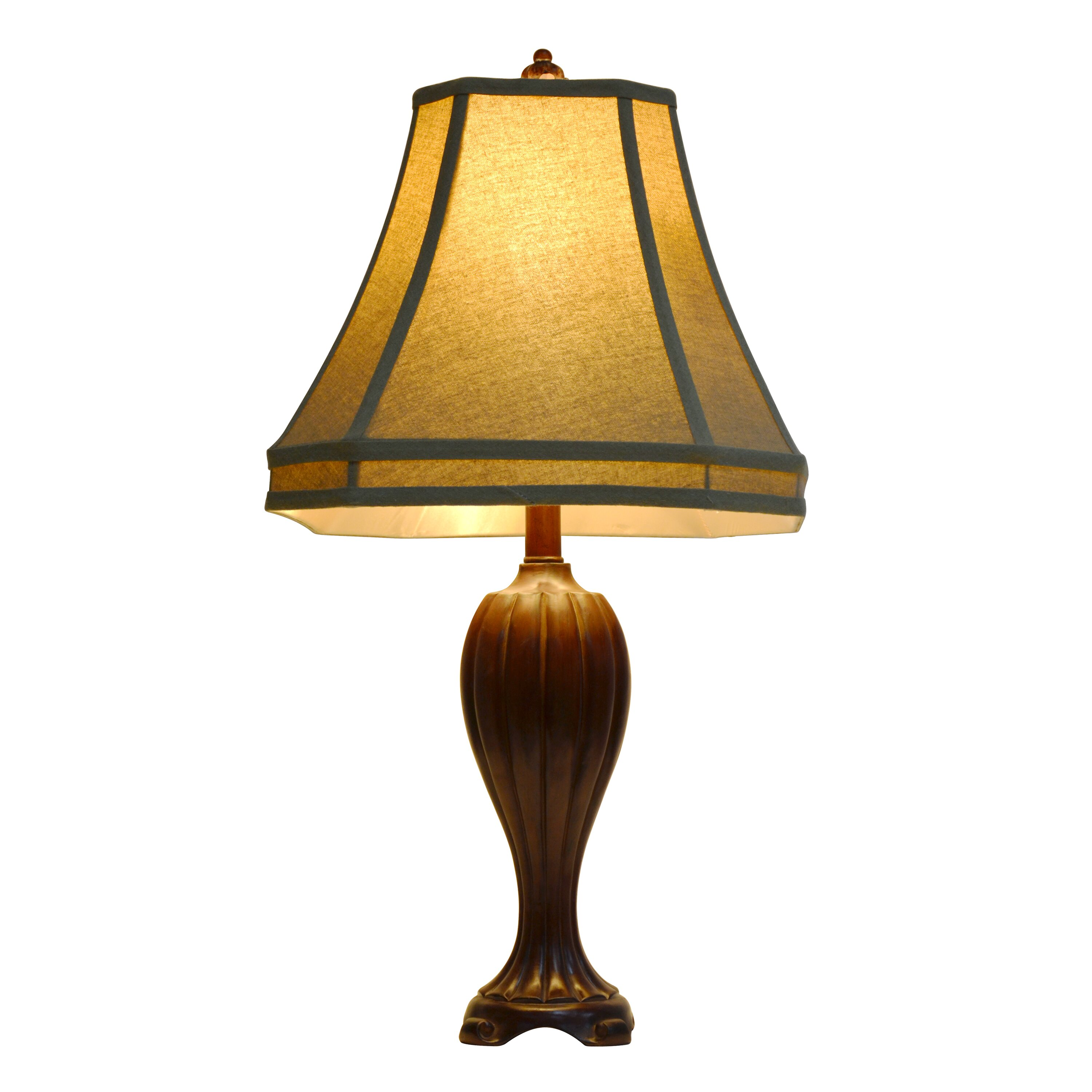 Decor therapy 27 5 table lamp reviews wayfair for Decor therapy