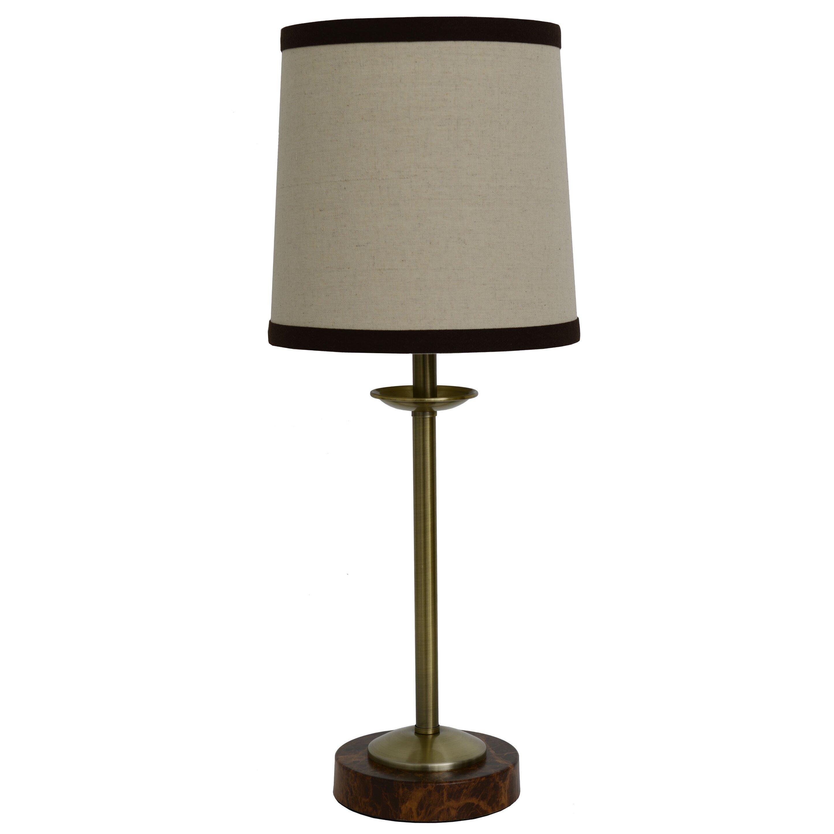 charlton home trafalgar 20 table lamp wayfair. Black Bedroom Furniture Sets. Home Design Ideas