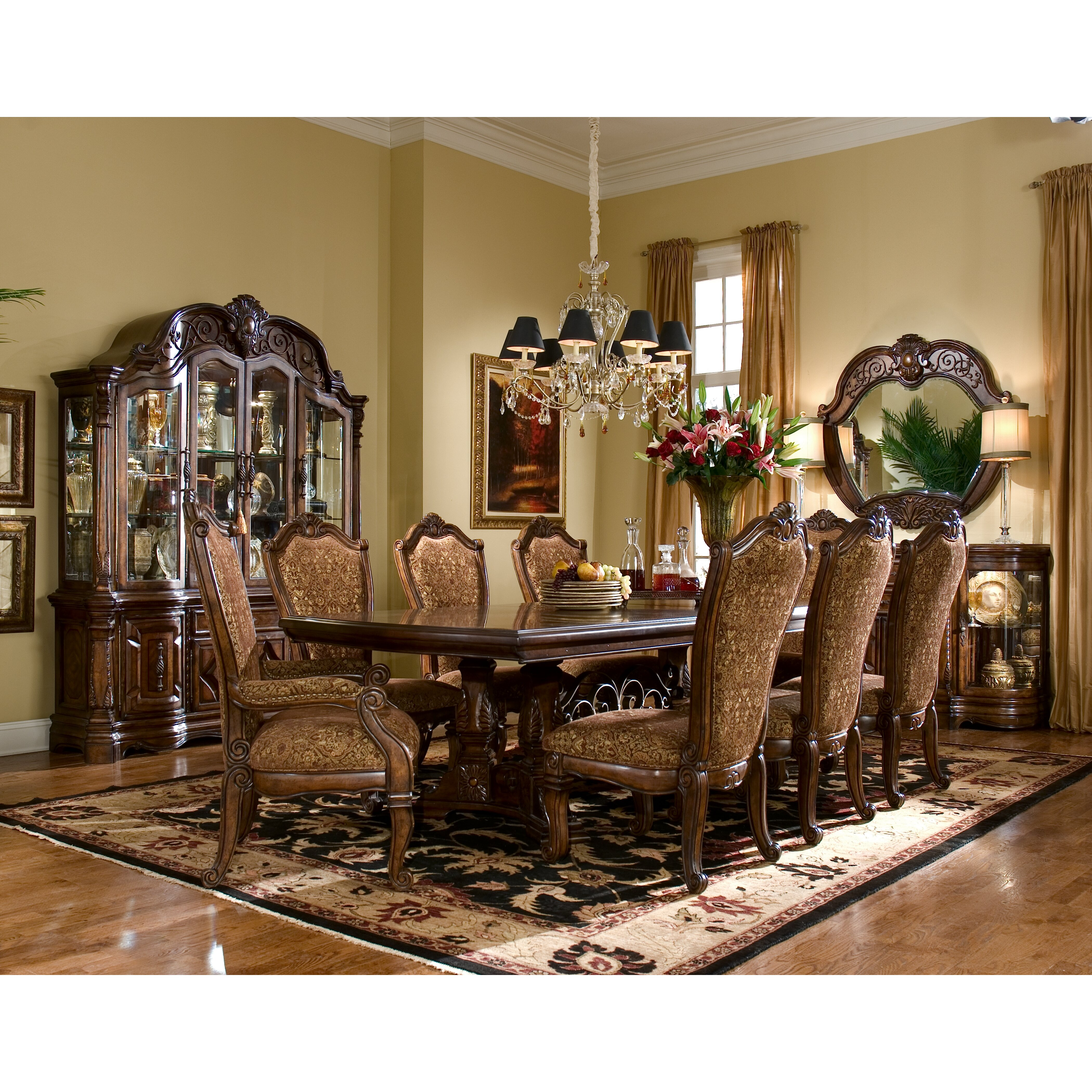 Michael Amini Dining Room Furniture: Michael Amini Windsor Court Side Chair & Reviews