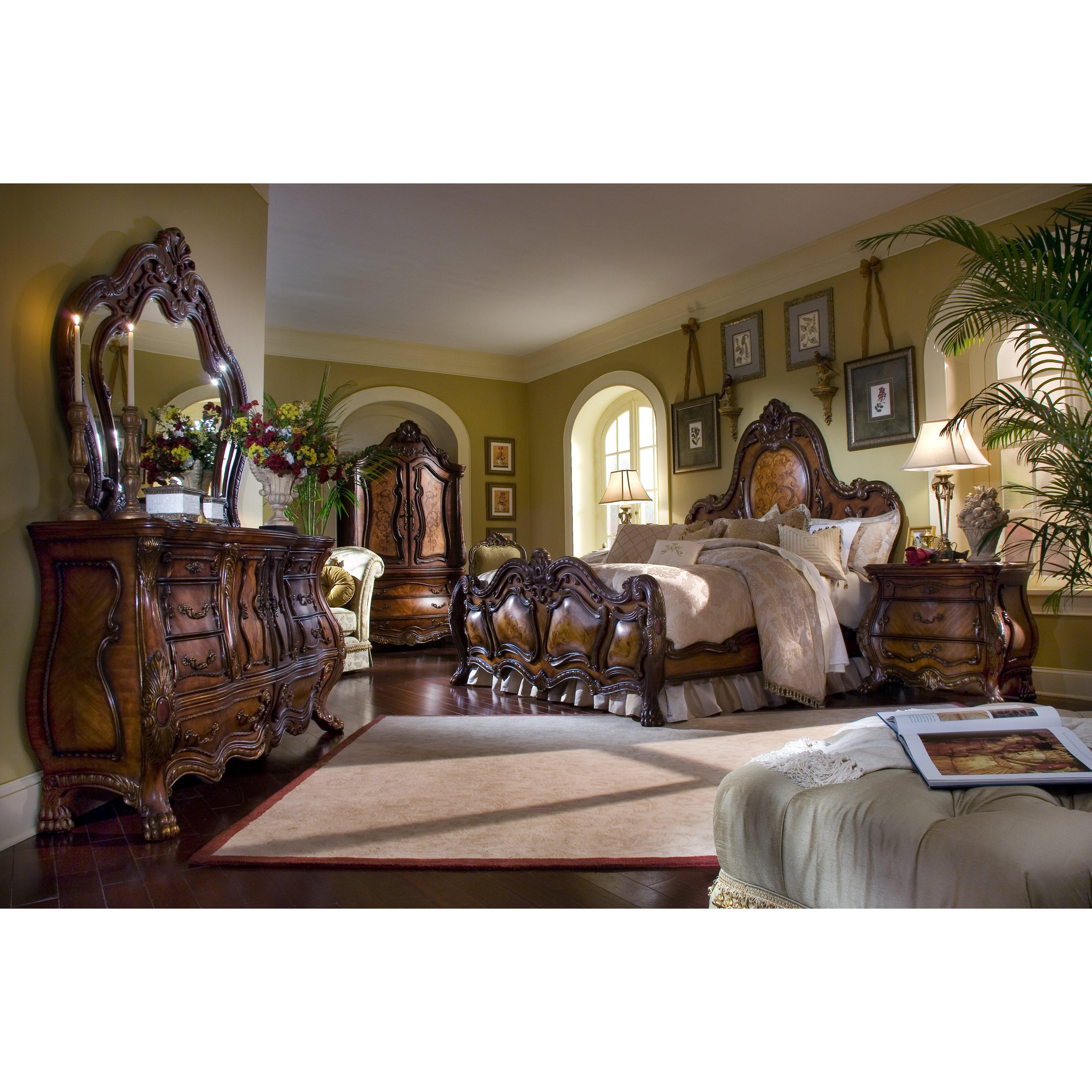Michael amini chateau beauvais 3 drawer bachelor 39 s chest - Chateau beauvais living room furniture ...