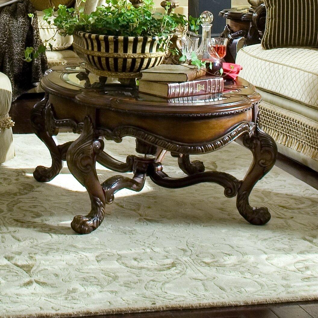 Michael amini chateau beauvais coffee table reviews - Chateau beauvais living room furniture ...