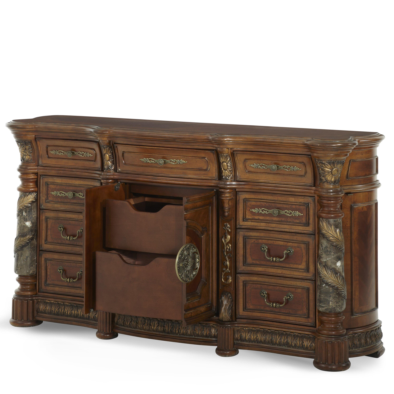 Michael Amini Villa Valencia 9 Drawer Dresser