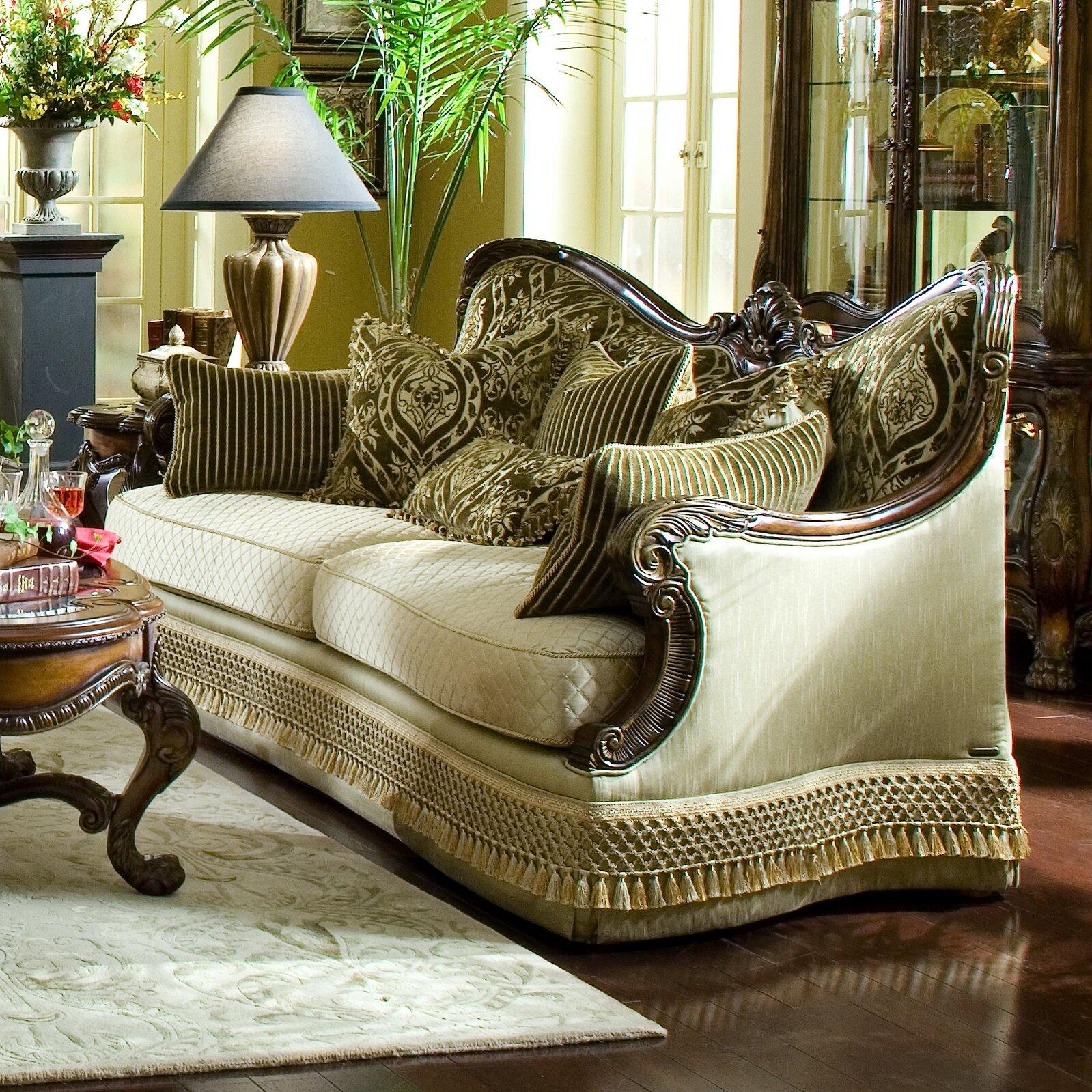 Michael Amini Chateau Beauvais Sofa & Reviews
