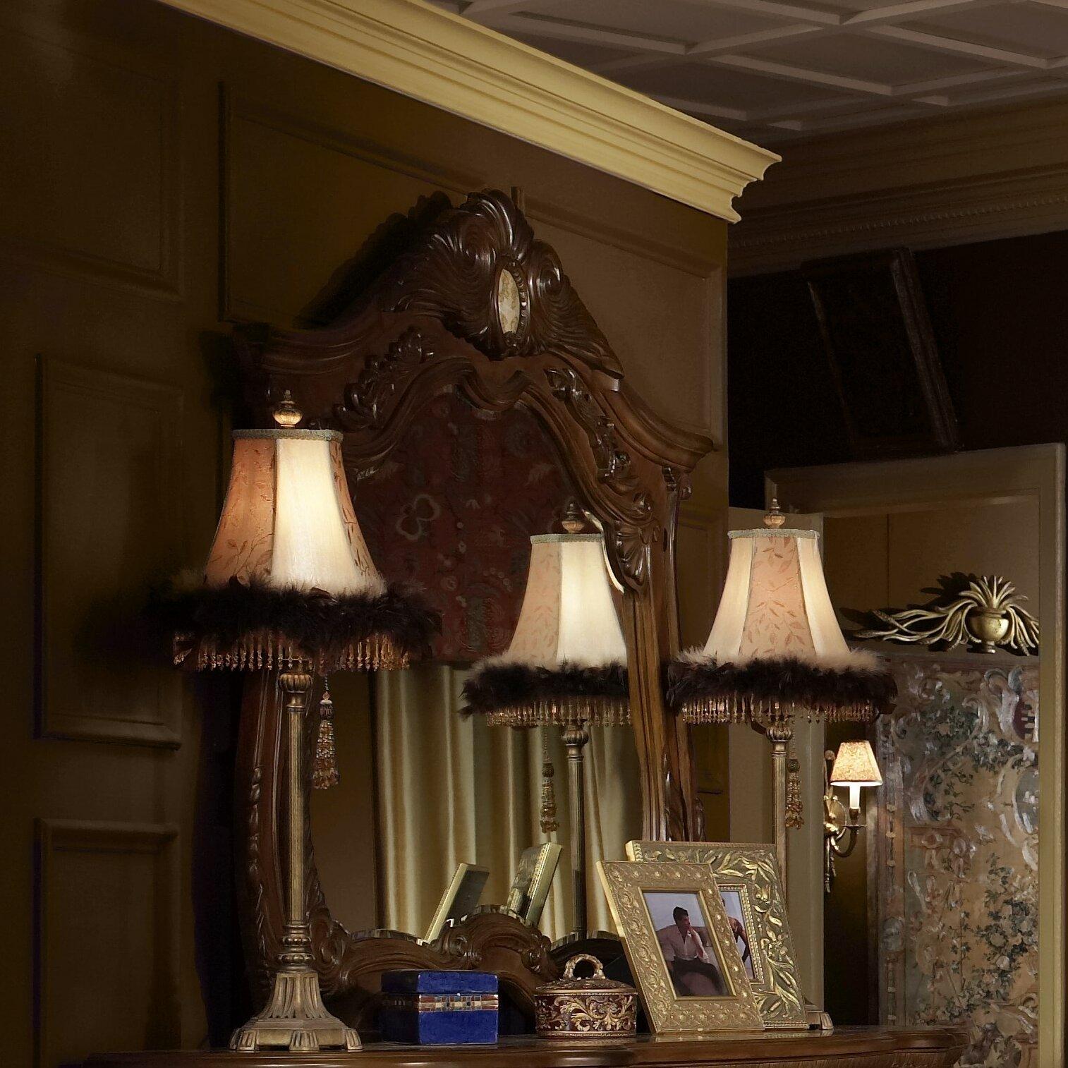 Michael Amini Cortina Panel Customizable Bedroom Set