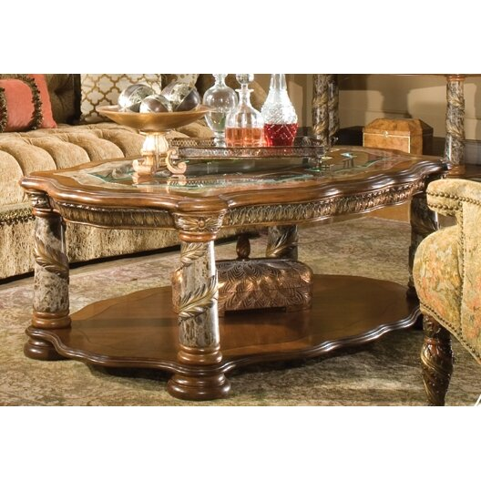 Michael Amini Villa Valencia Coffee Table Set & Reviews