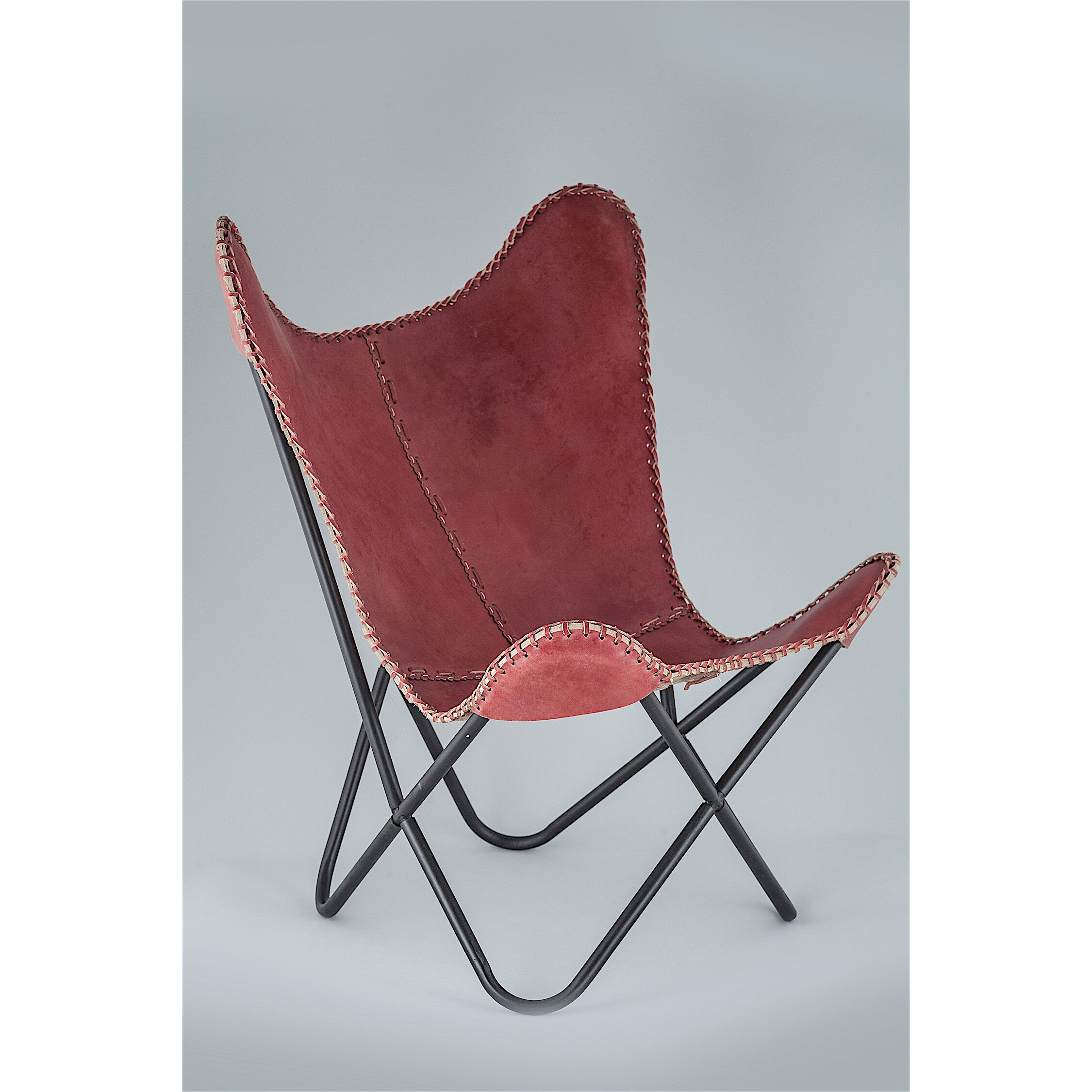 Fashion N You Leather Butterfly Chair