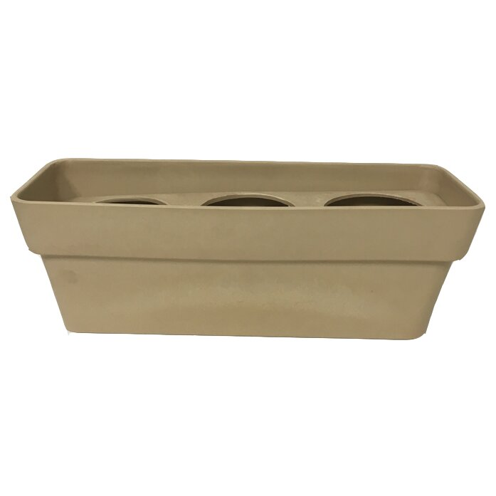 Arcadia garden products rectangular planter box for Wayfair garden box