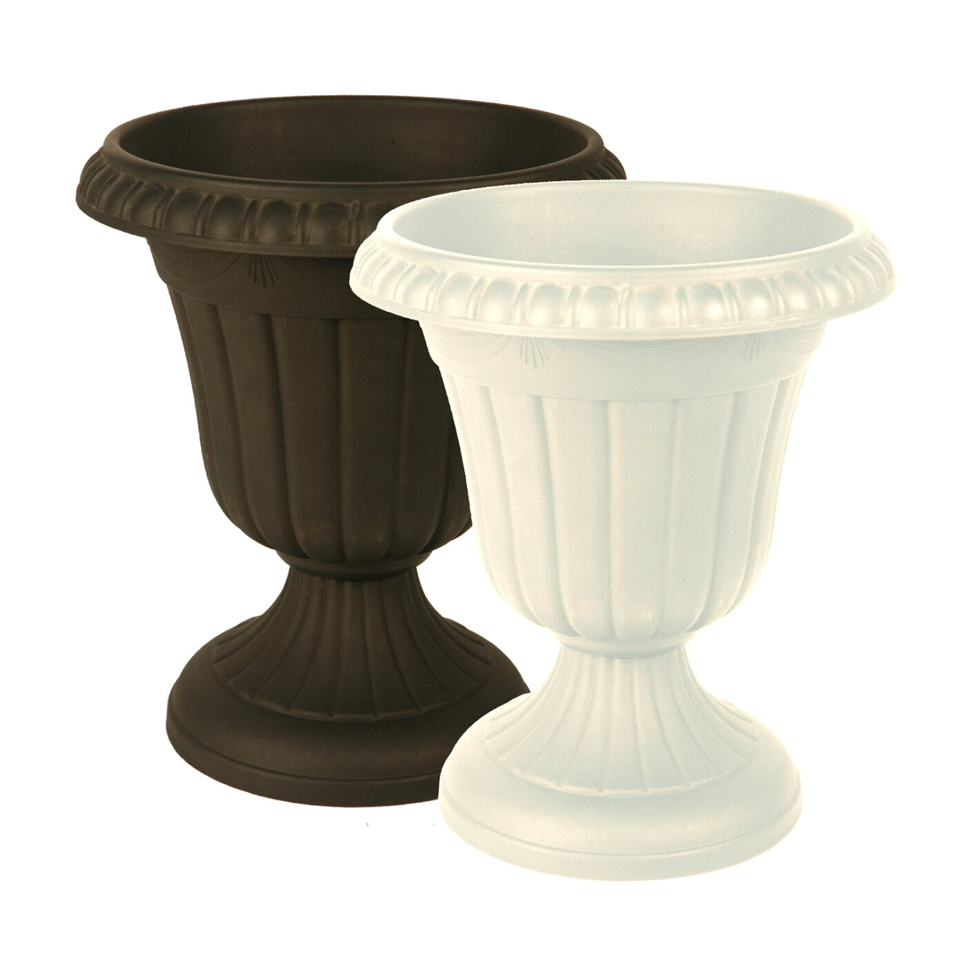 Arcadia Garden Products Round Urn Planter Amp Reviews Wayfair