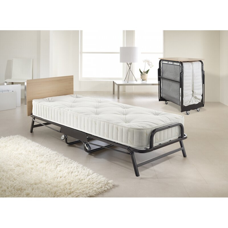jay be hospitality folding bed with deep spring mattress. Black Bedroom Furniture Sets. Home Design Ideas