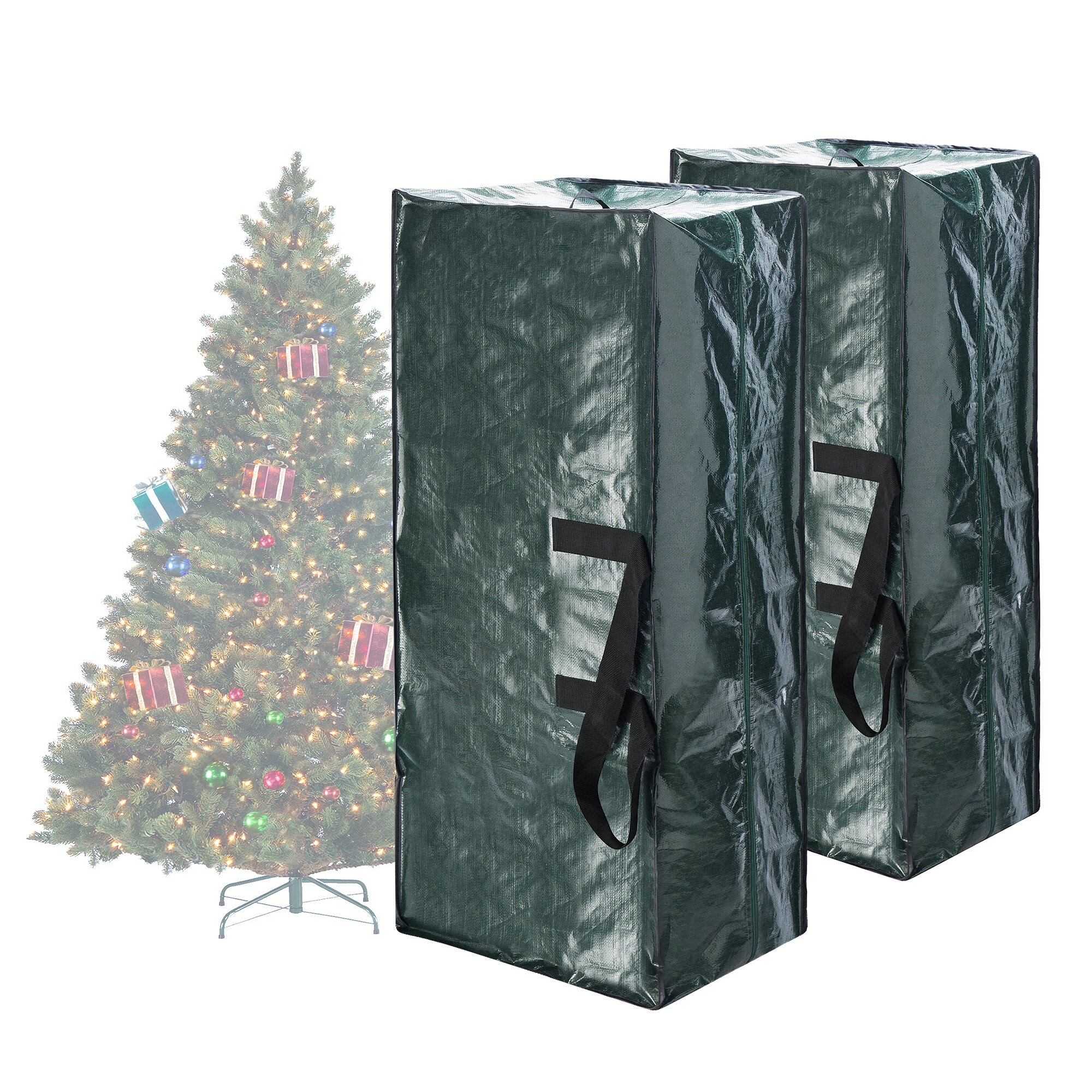 elf stor premium christmas tree storage bag wayfair. Black Bedroom Furniture Sets. Home Design Ideas