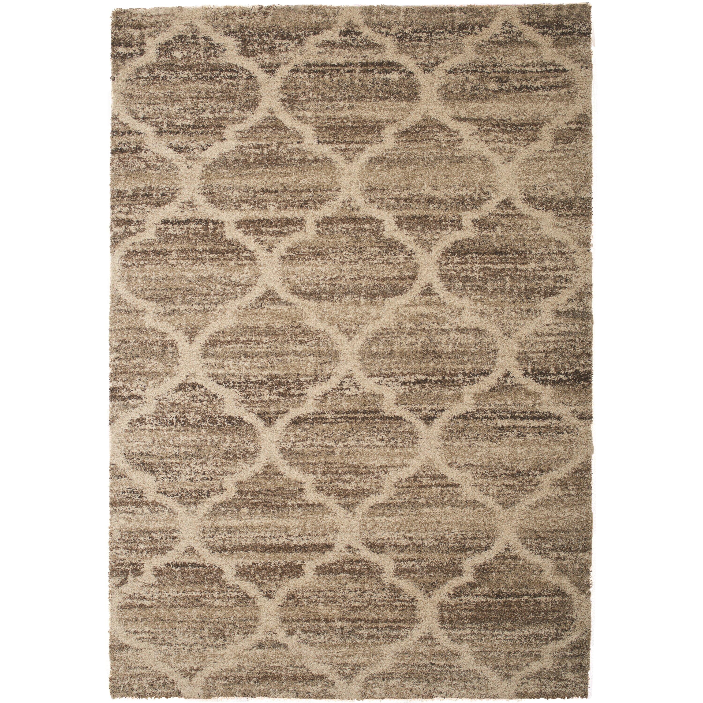 Abacasa Granada Ivory/Tan/Brown Area Rug | Wayfair