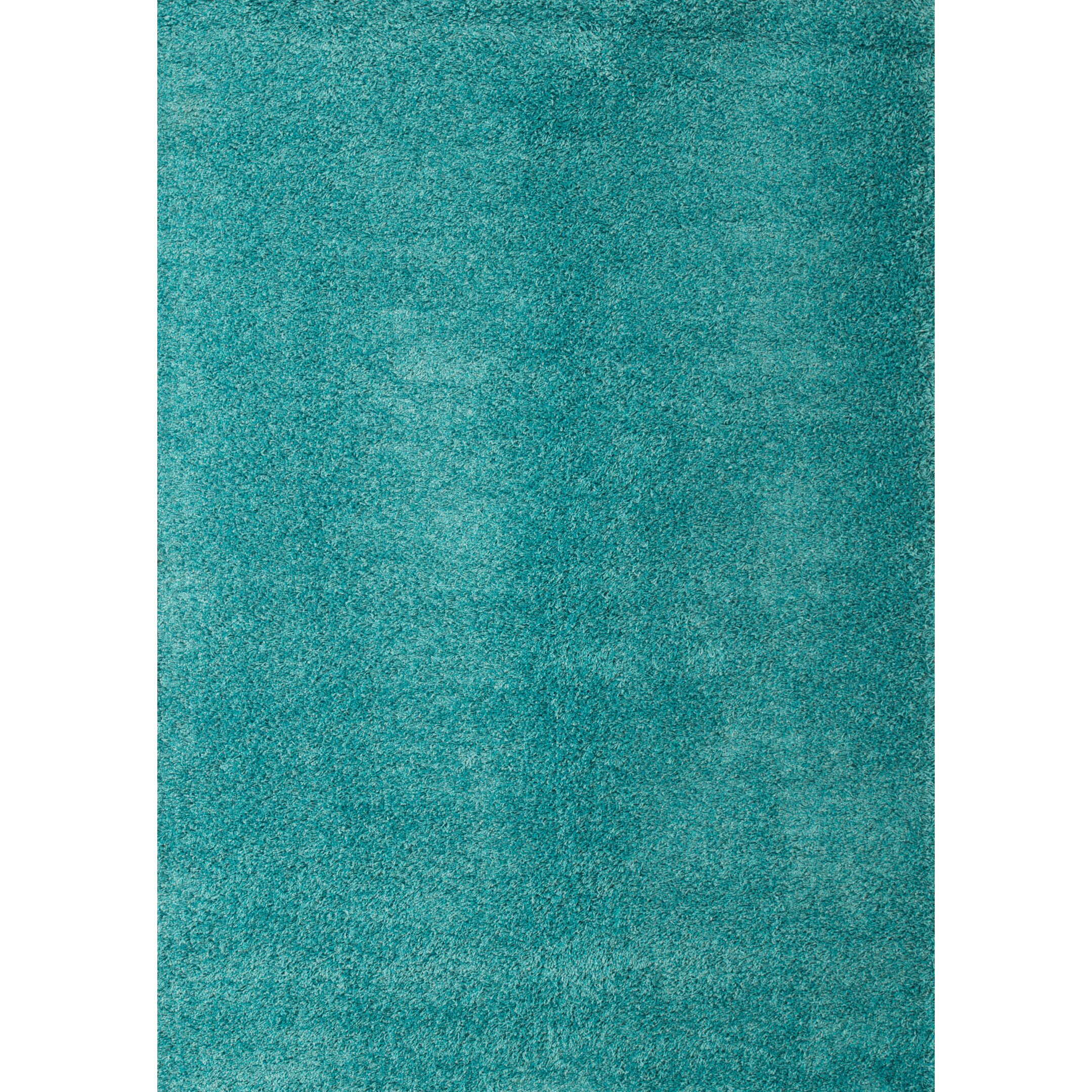 X  Teal Dining Room Rug