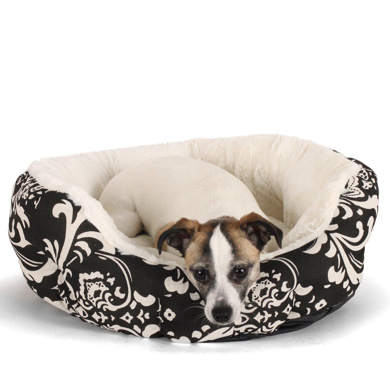 best friends by sheri cuddler duchess bolster dog bed reviews wayfair. Black Bedroom Furniture Sets. Home Design Ideas