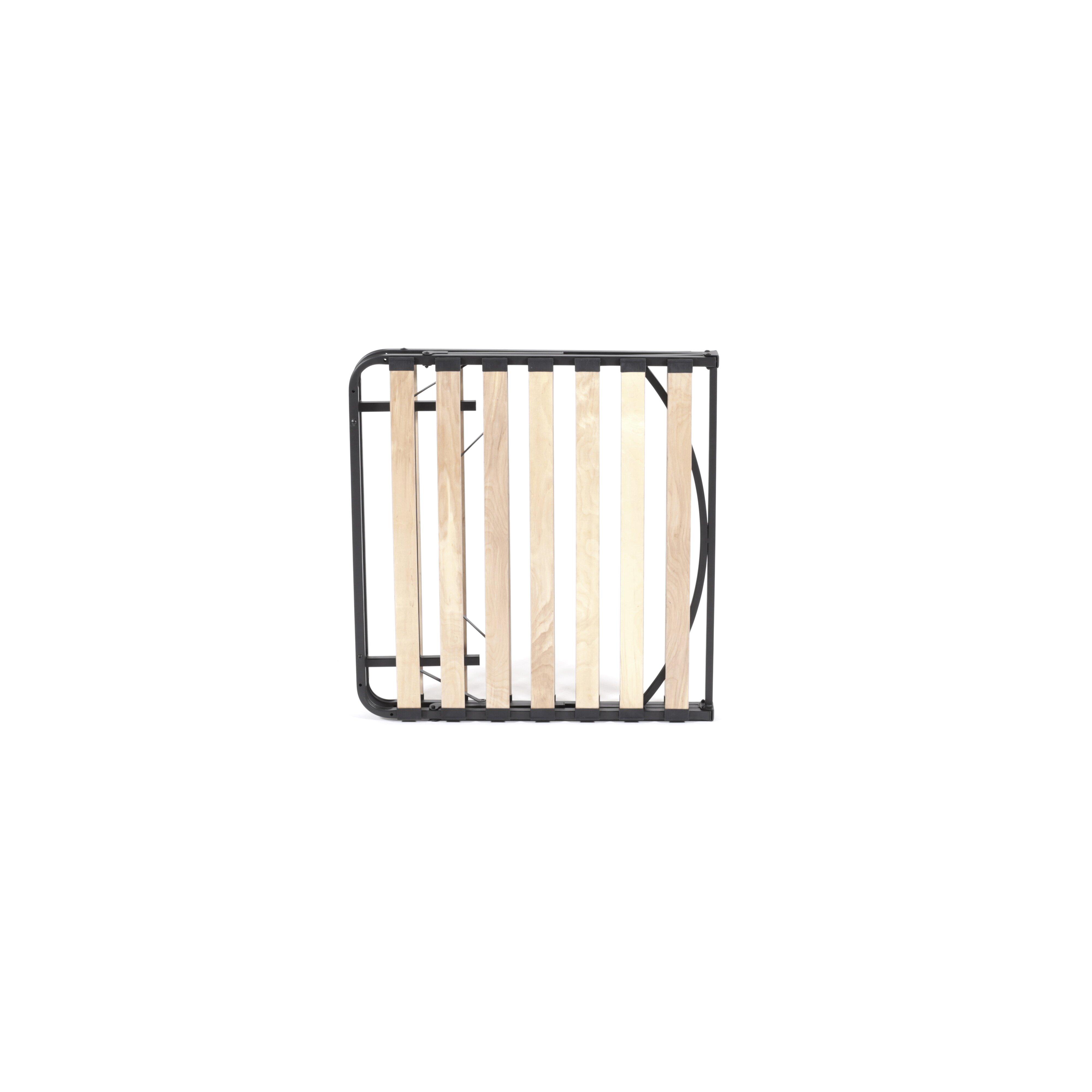Pragma Bed Wooden Slat Simple Base Bed Frame Amp Reviews