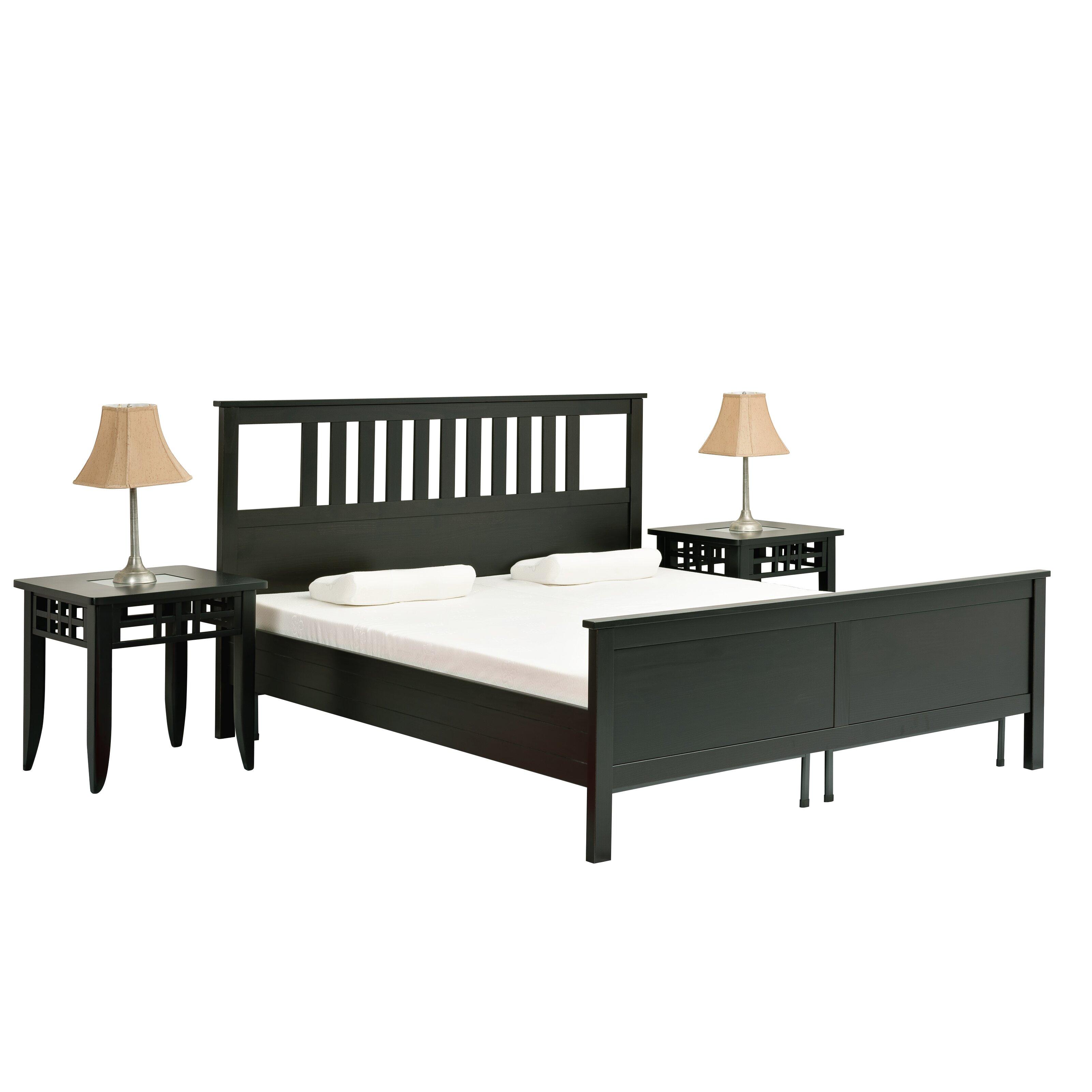 Pragma Bed Headboard And Footboard Bracket Set Of 2