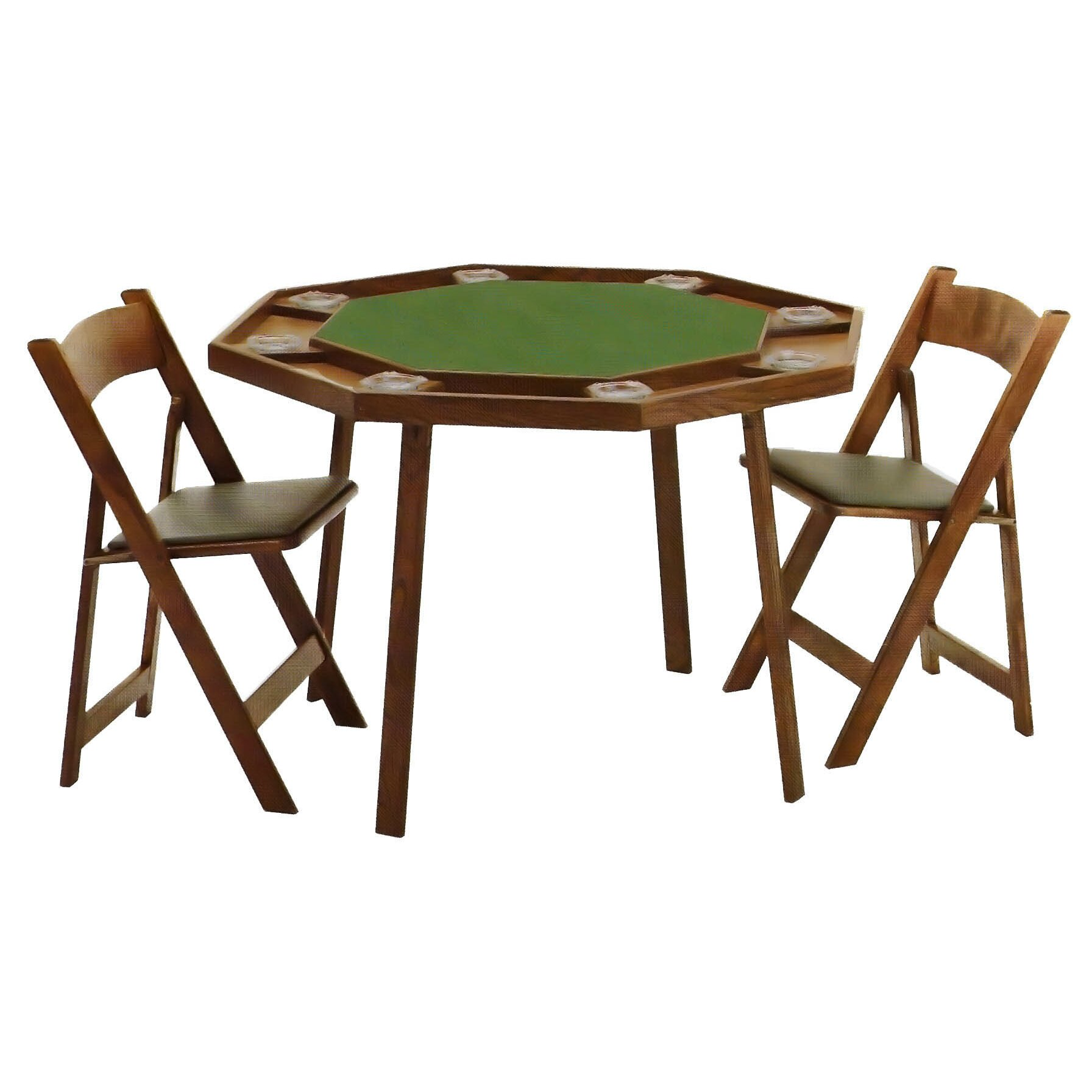 Kestell Furniture 46quot Oak Compact Folding Poker Table Set  sc 1 st  Castrophotos & Poker Set Table - Castrophotos