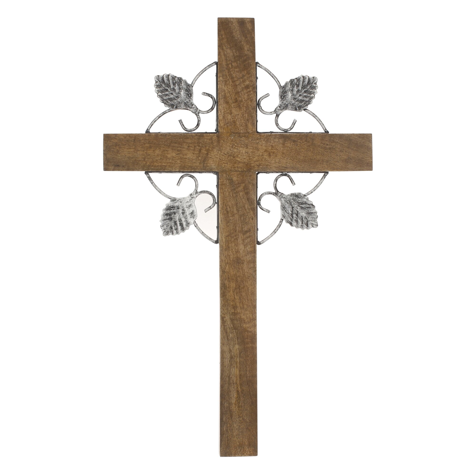Ckk home d cor lp stonebriar cross wall decor reviews wayfair Home decor wall crosses