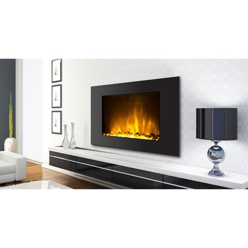 Warm House Oslo Wall Mount Electric Fireplace & Reviews