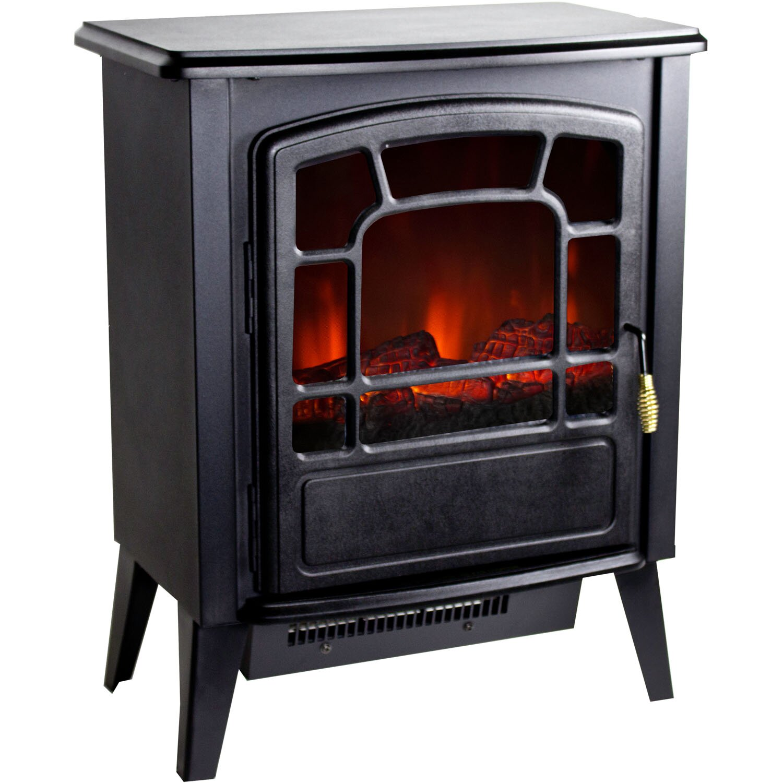 Warm House Bern Retro Style Floor Standing Electric Fireplace Reviews Wayfair