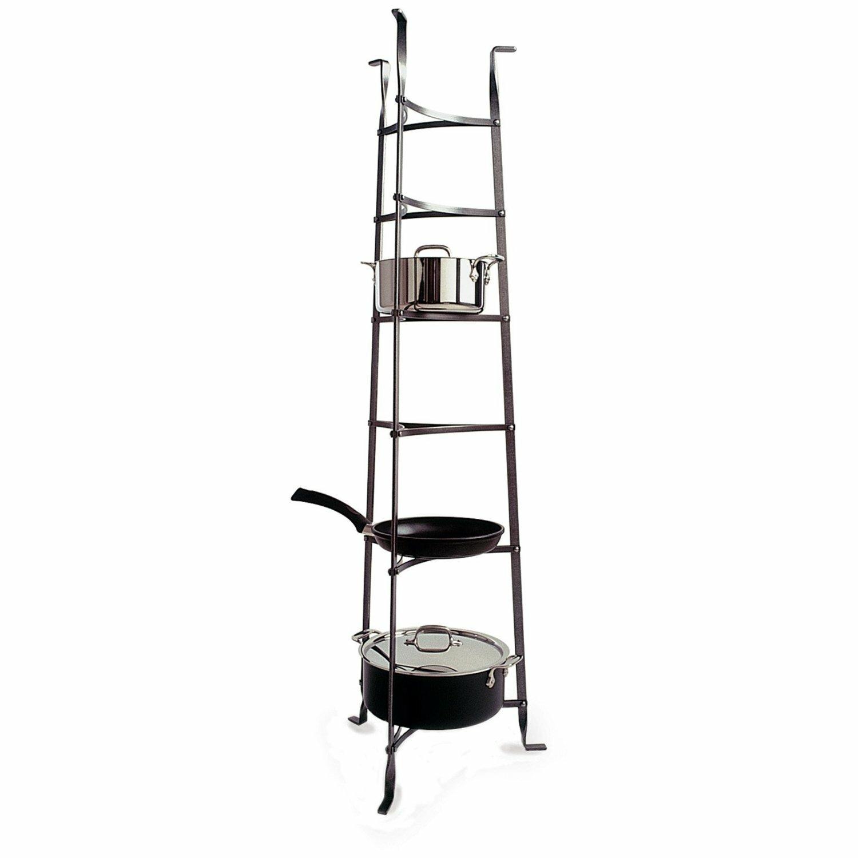 Enclume Premier 6-Tier Cookware Standing Pot Rack ...
