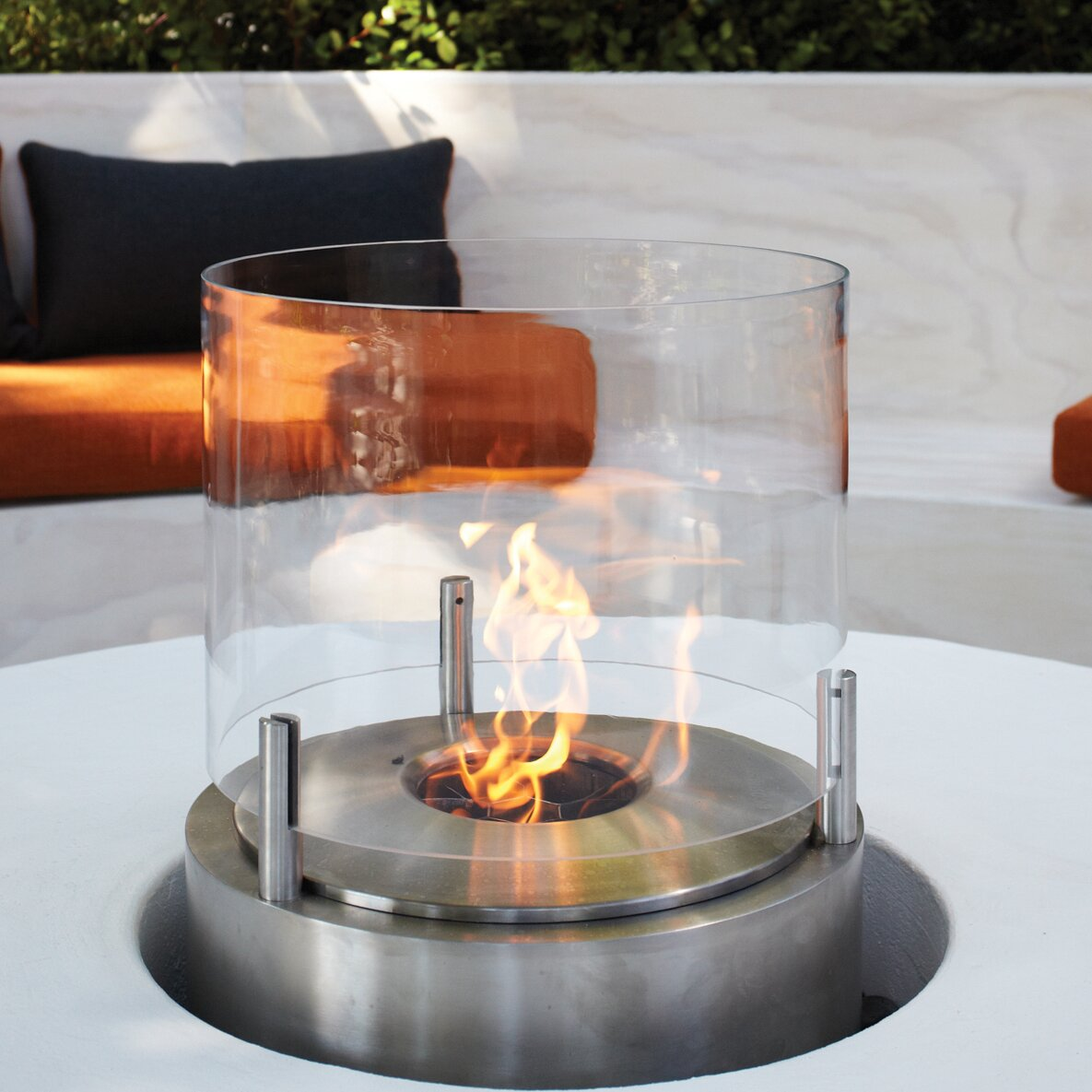 ecosmart fire cyl bio ethanol tabletop fireplace wayfair. Black Bedroom Furniture Sets. Home Design Ideas