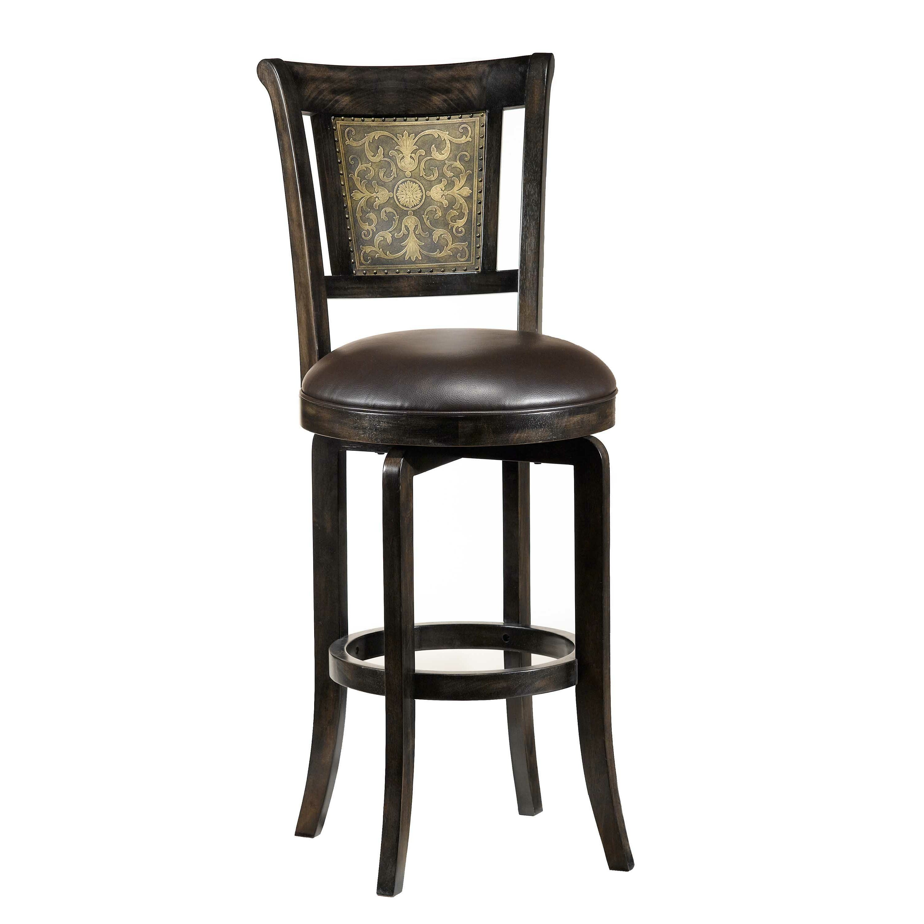 Hillsdale Camille 26 5 Quot Swivel Bar Stool Amp Reviews Wayfair