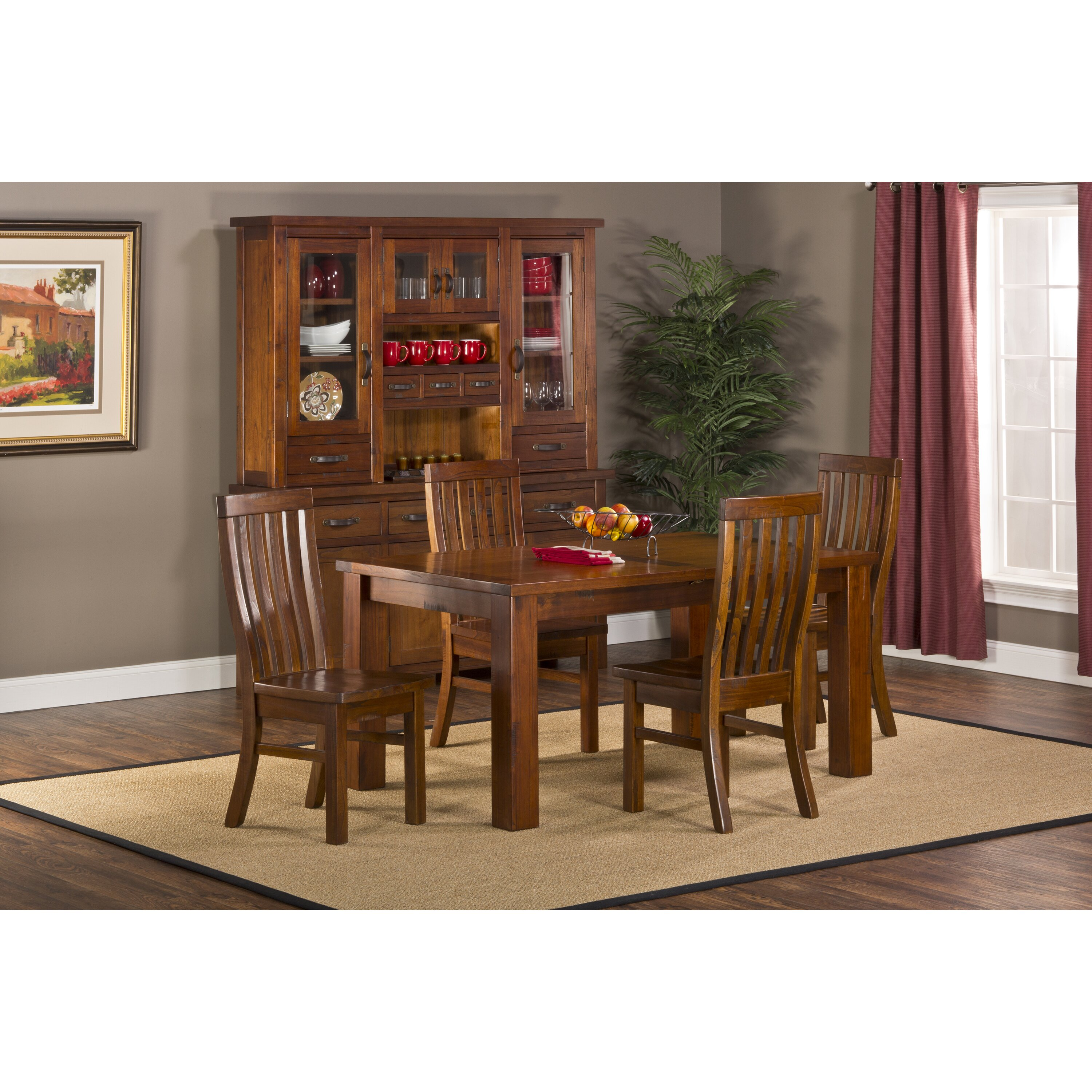 Hillsdale Furniture Bennington 5pc Dining Room Set In: Hillsdale Outback 5 Piece Dining Set & Reviews