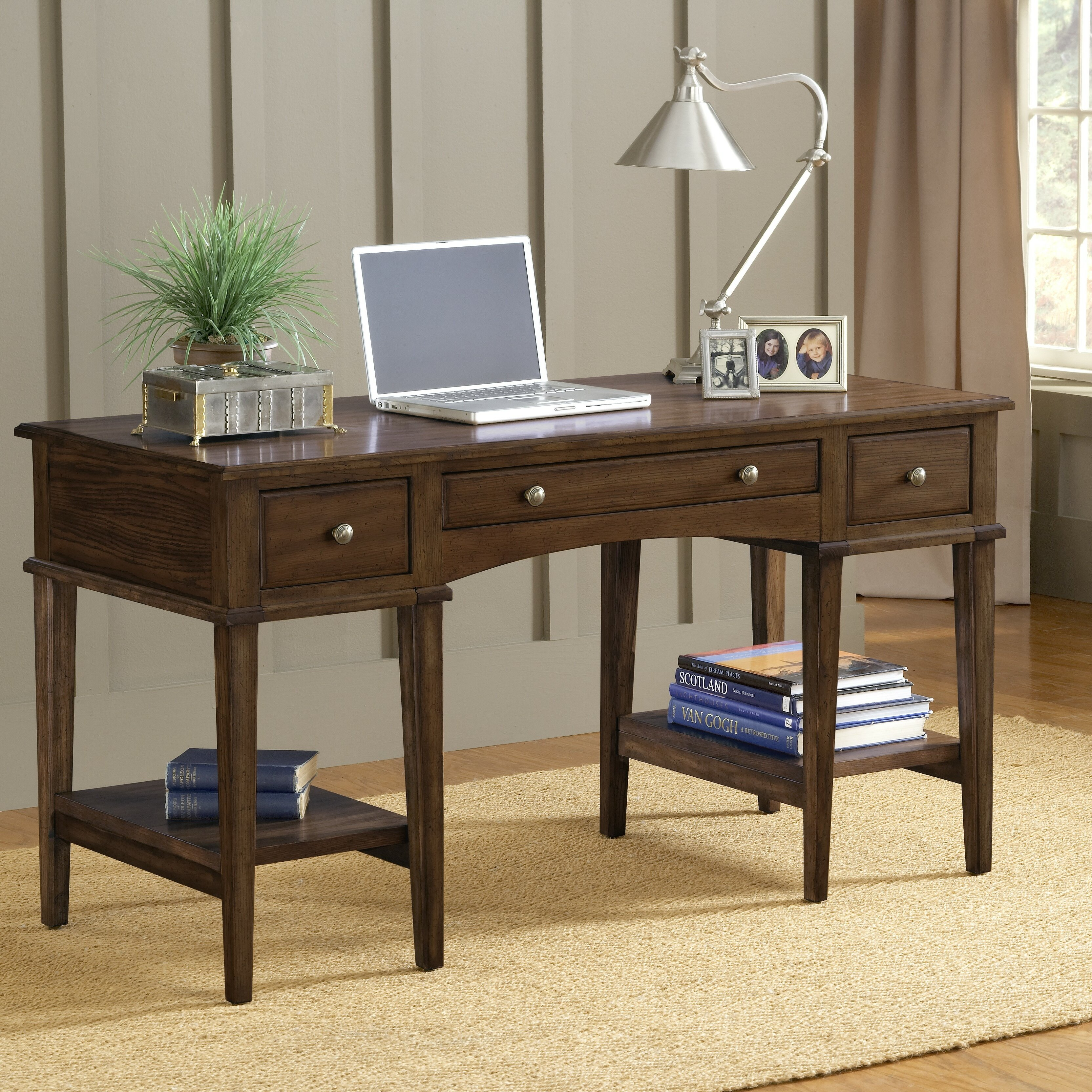 Hillsdale gresham writing desk reviews wayfair for Furniture 2 day shipping