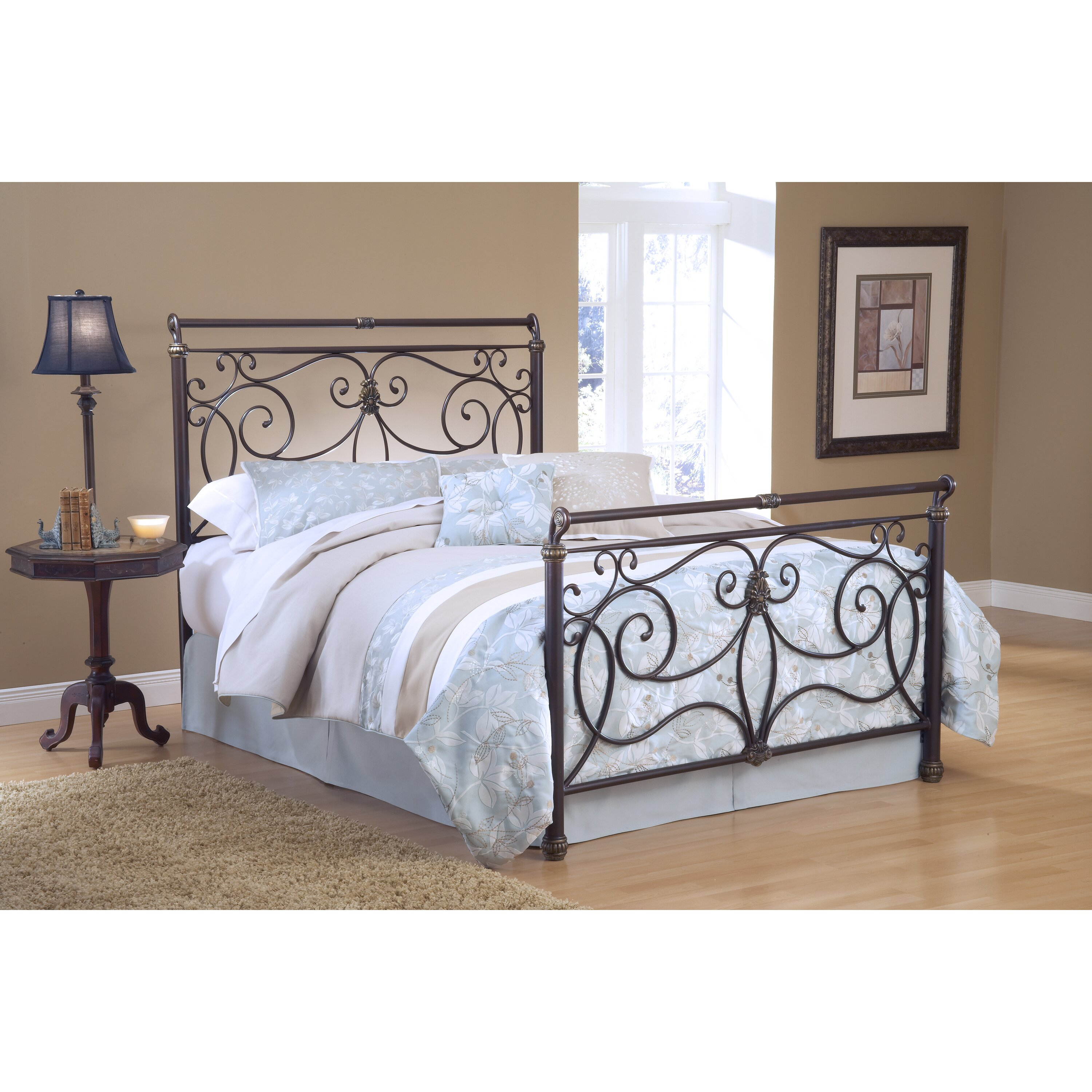 Hillsdale Brady Metal Headboard Reviews Wayfair
