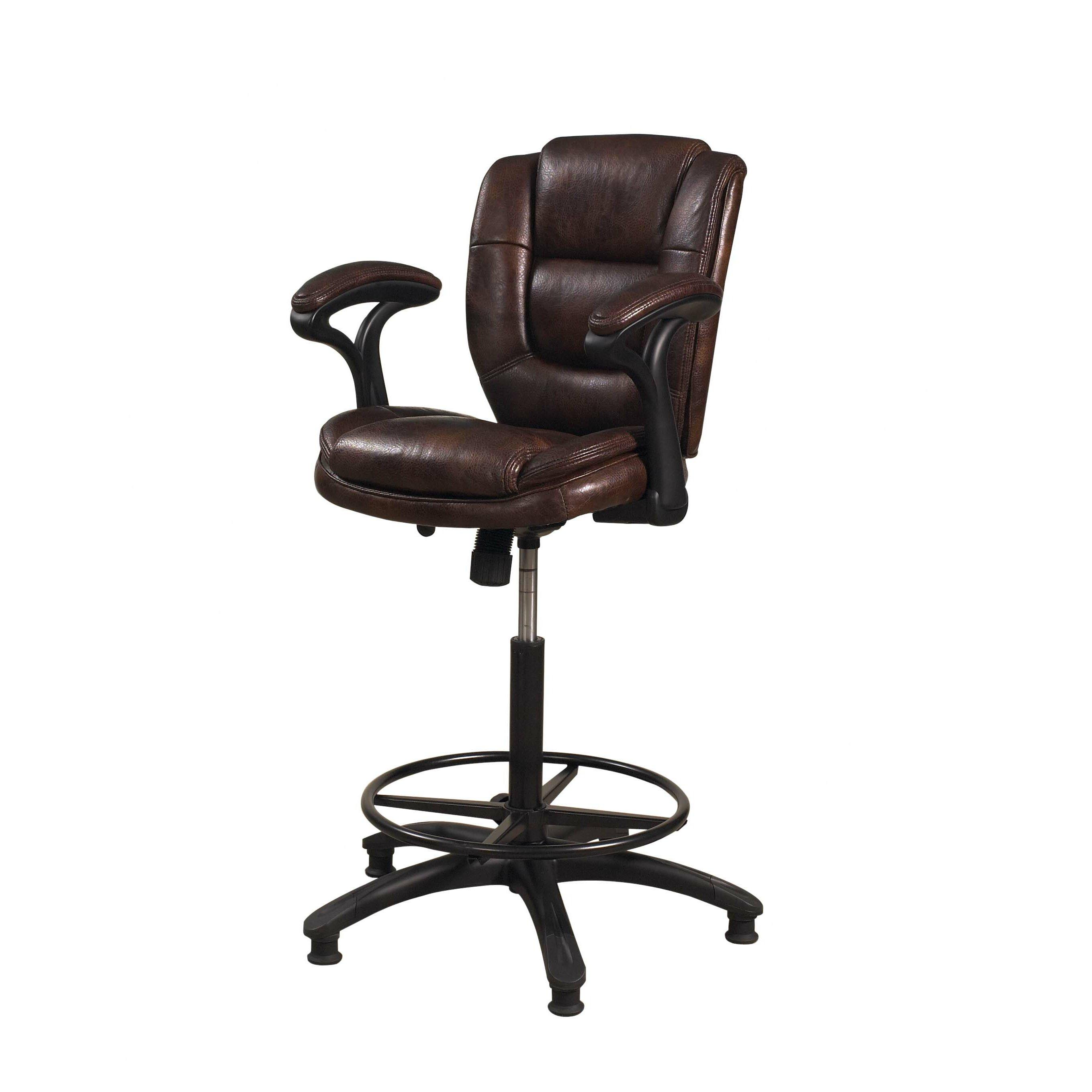 hillsdale furniture dawson adjustable height swivel bar stool bandero office desk 100