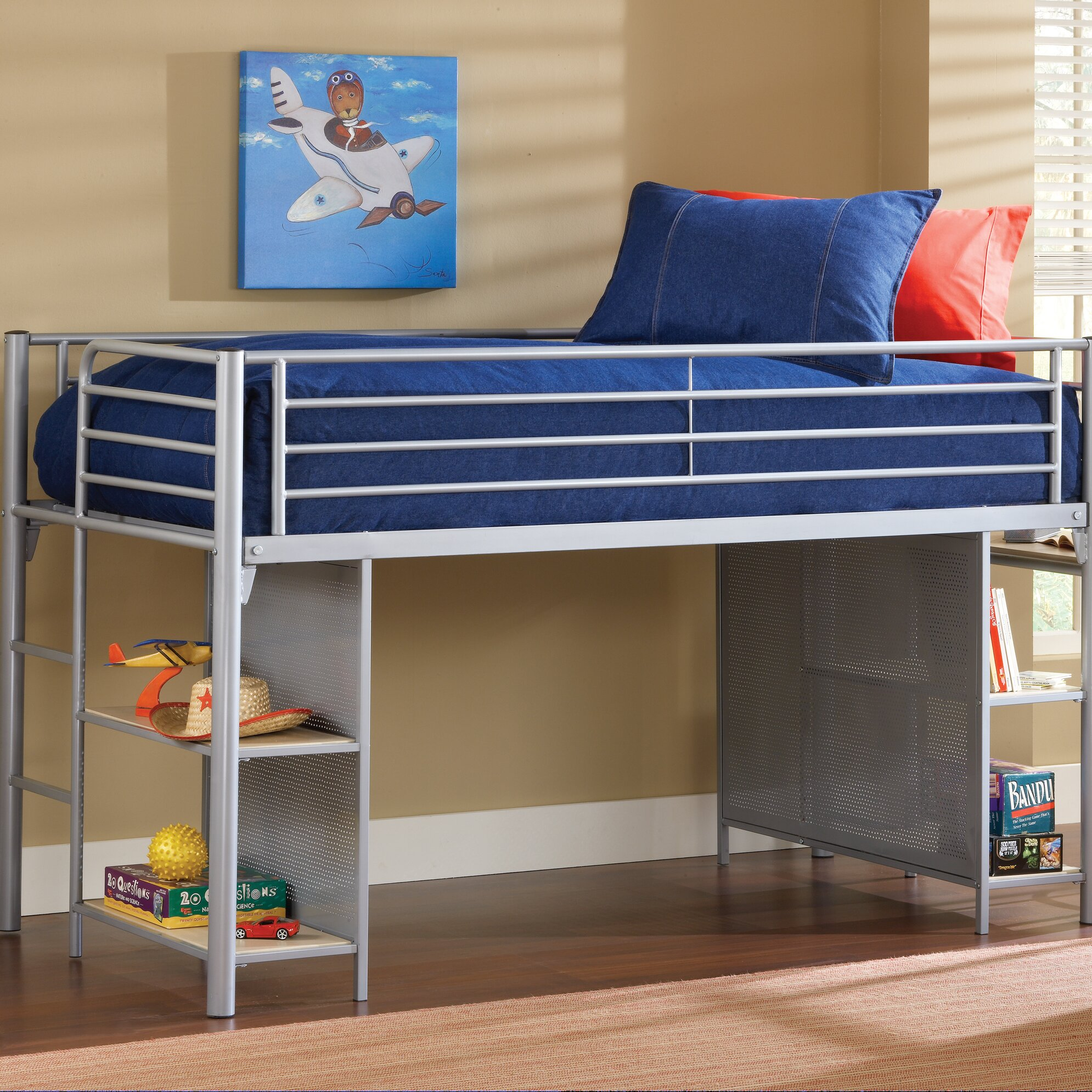 Hillsdale Universal Youth Twin Low Loft Bed Wayfair