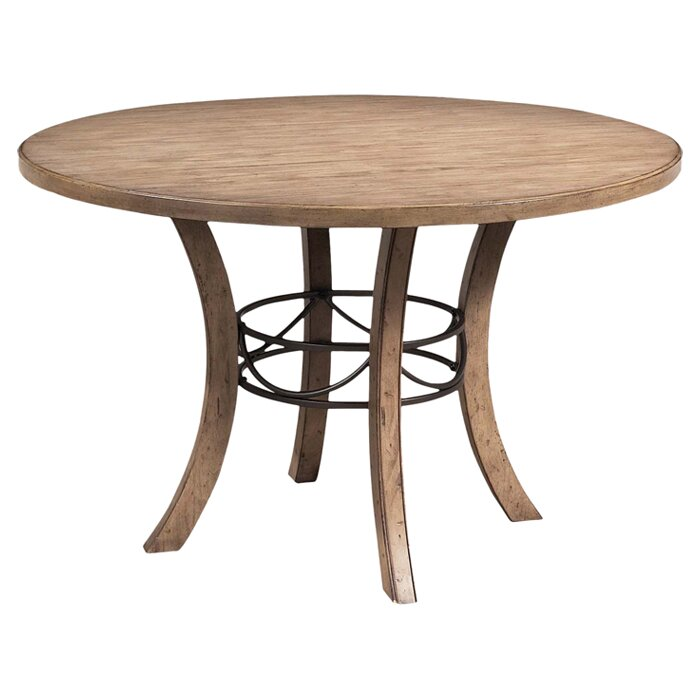 Hillsdale charleston round dining table reviews wayfair for Wayfair dining tables