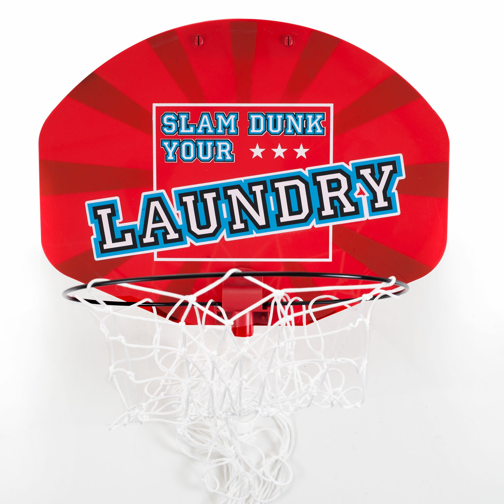 Trademark Home Collection Basketball Laundry Hamper