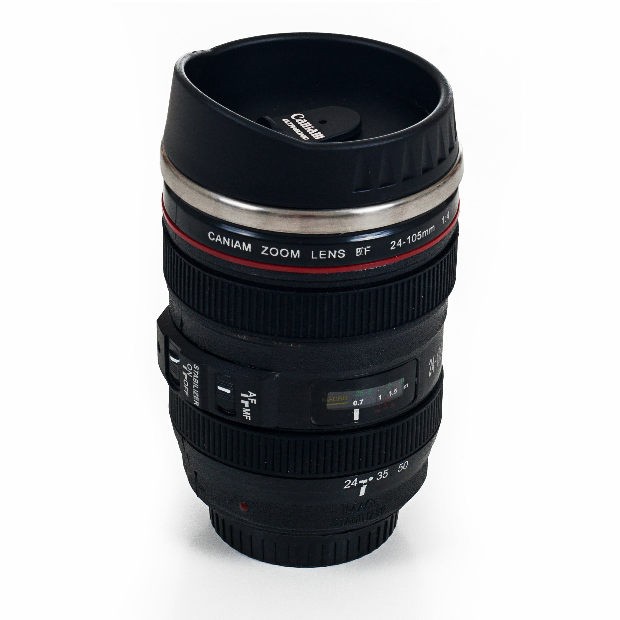 Trent austin design cedardale camera lens coffee 12 oz for Photo lens coffee cup