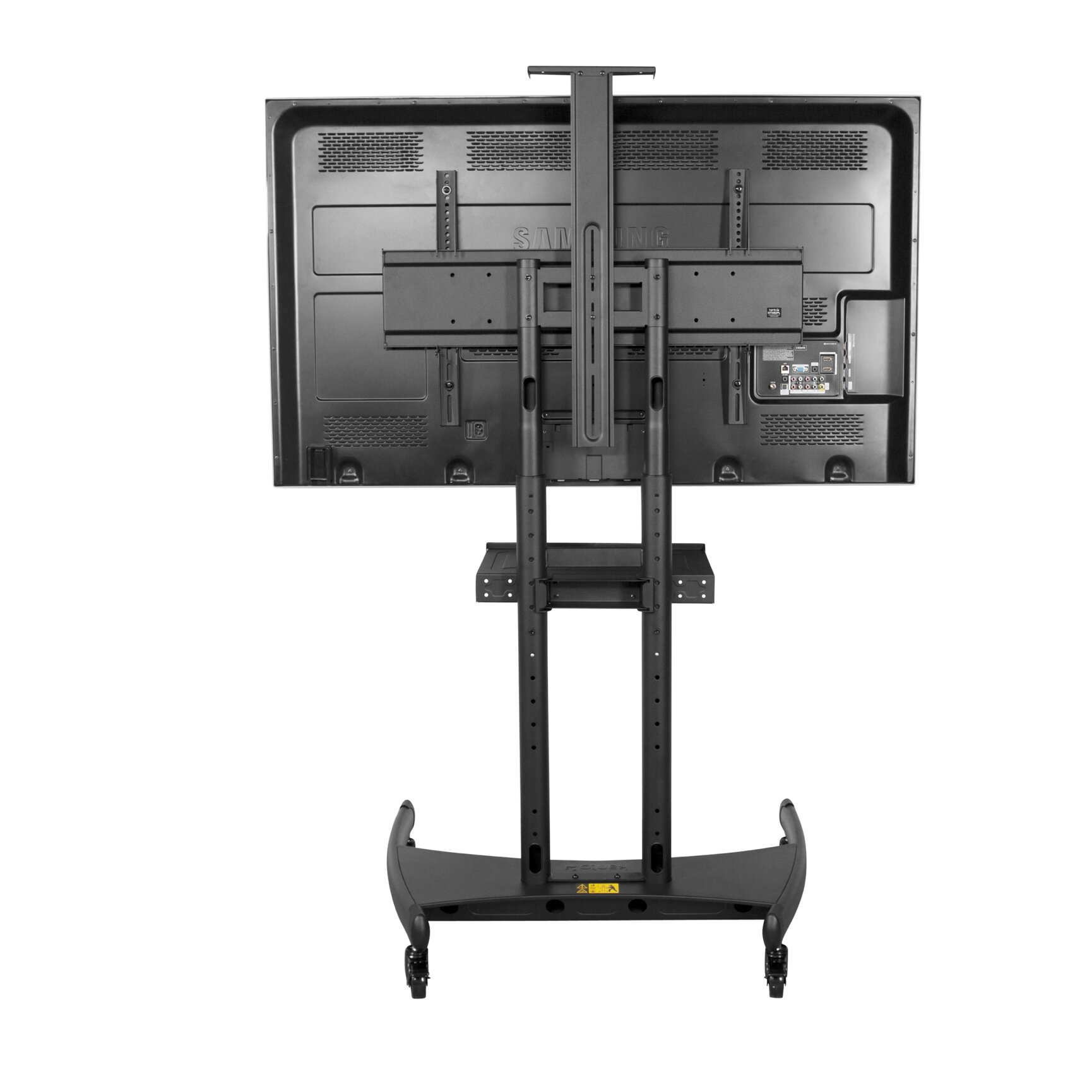 Kanto Mobile Tv Mount For 50 82 Flat Panel Tv Wayfair