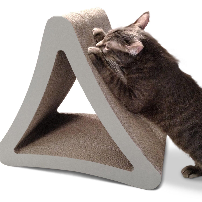 Petfusion 3 Sided Vertical Cat Scratcher Amp Reviews Wayfair