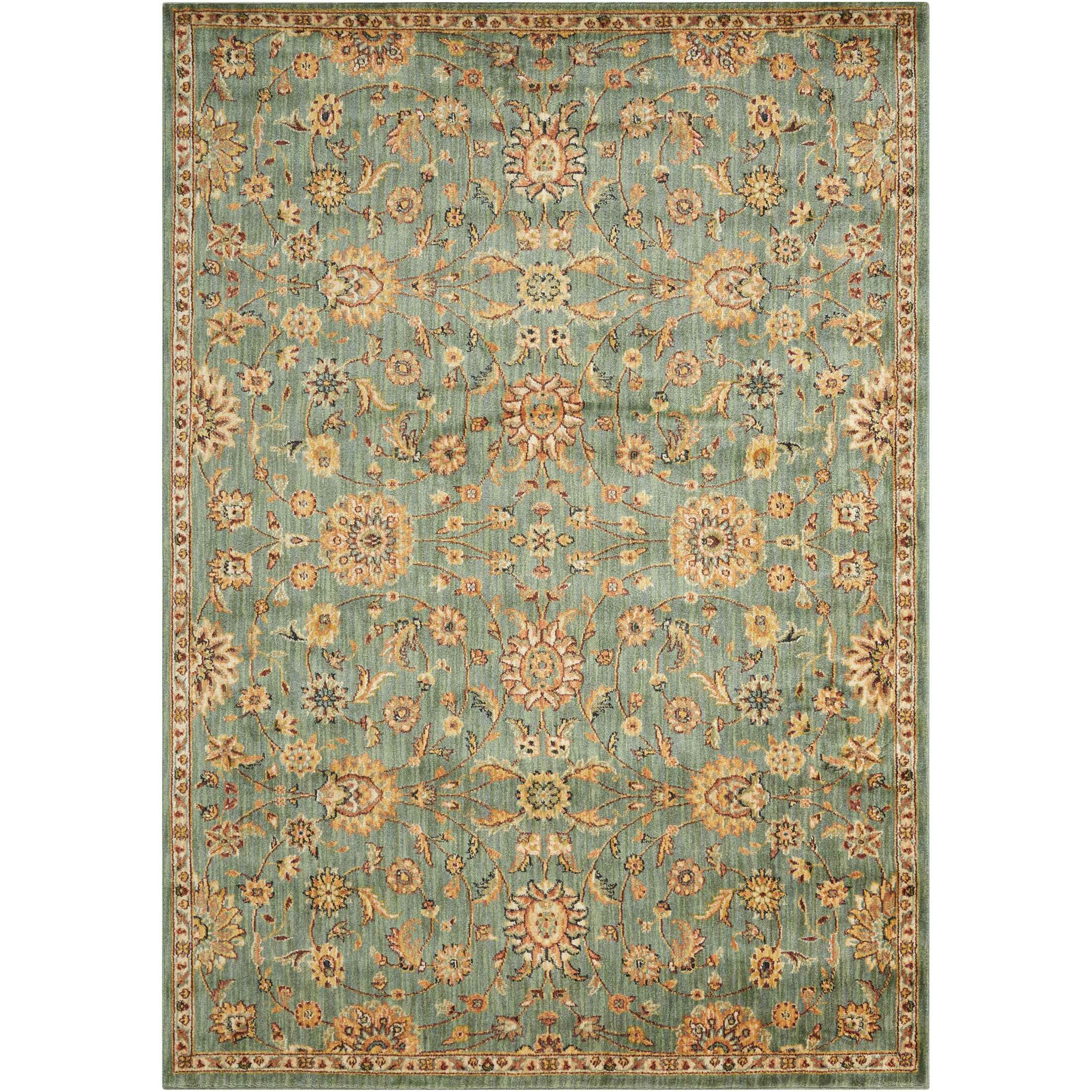 Teal Area Rug: Calvin Klein Rugs Ancient Times Teal Area Rug