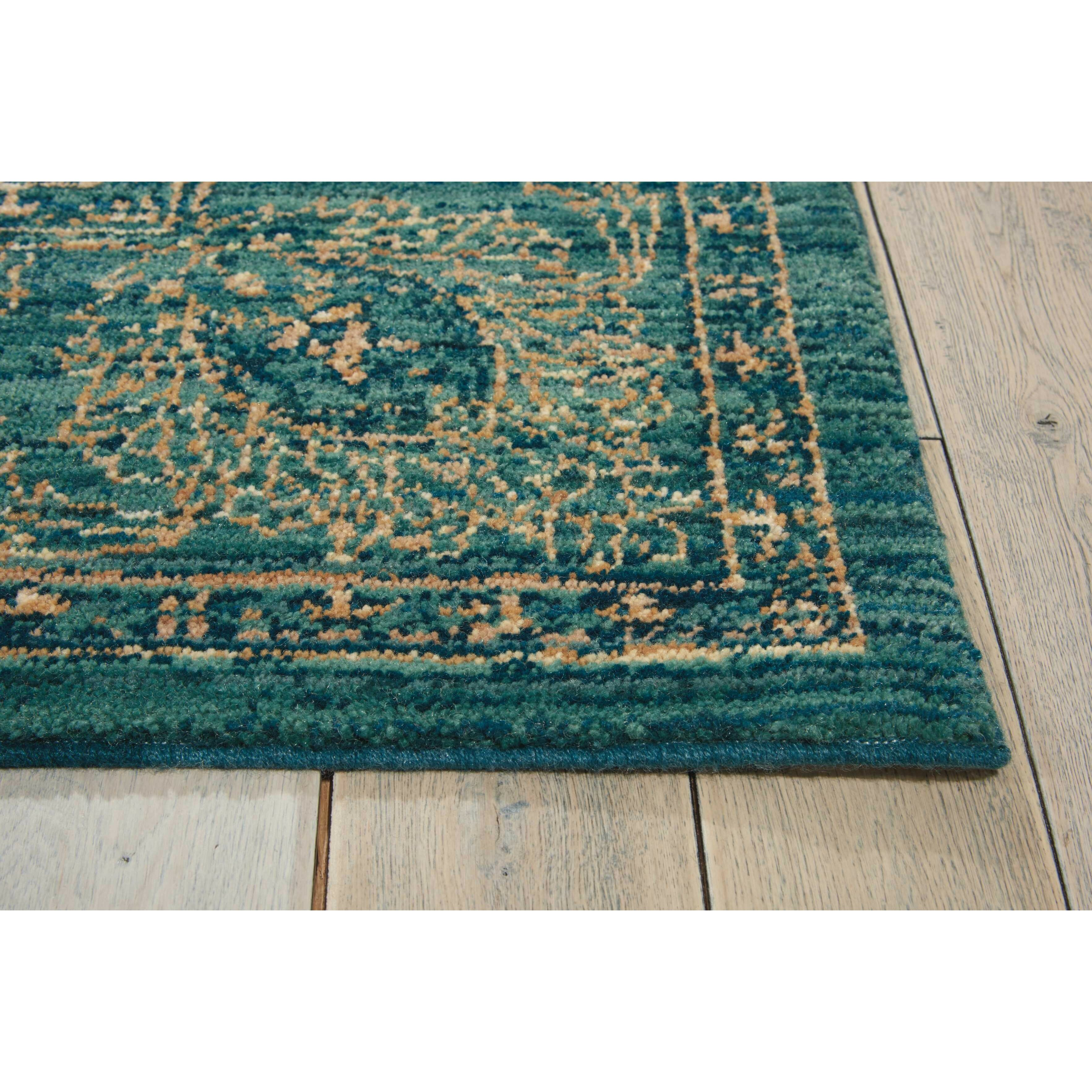 Calvin Klein Rugs Teal Area Rug & Reviews