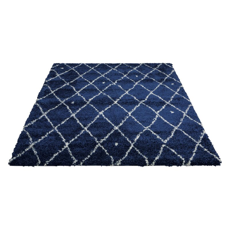 Navy And White Area Rug Artistic Weavers Pollack Stella