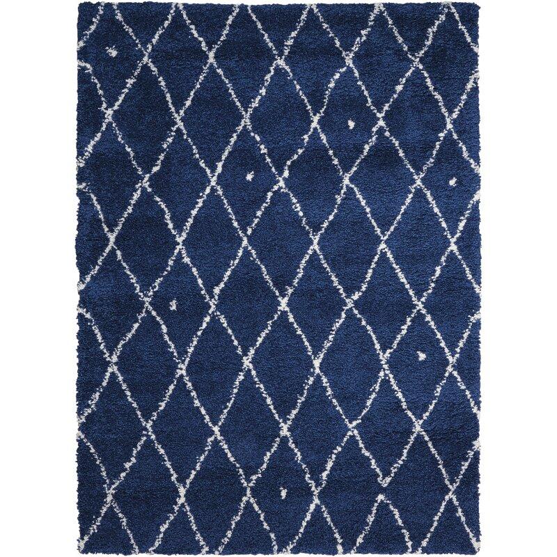 calvin klein rugs riad navy white area rug wayfair