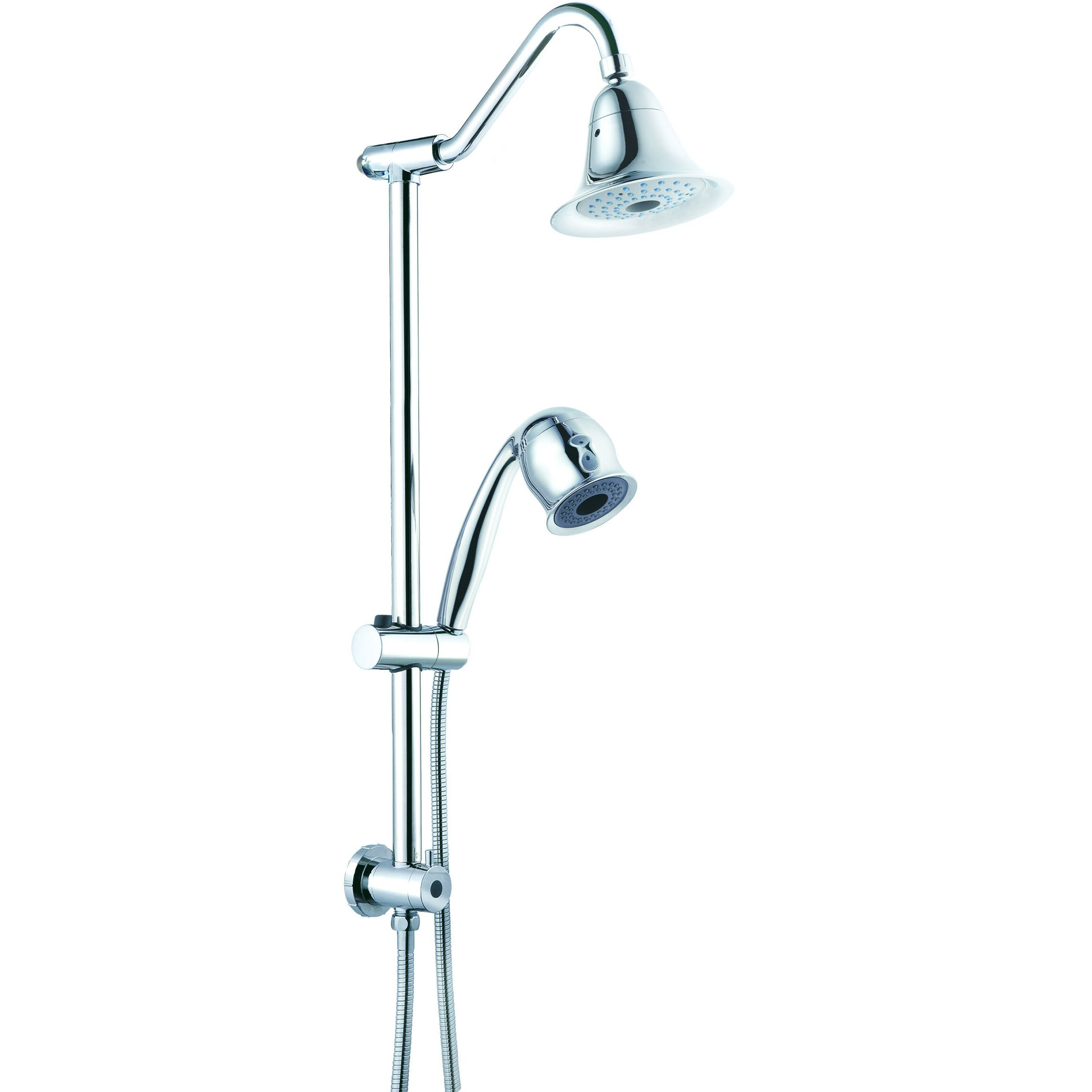 Csi Bathware Sliding Shower Faucet Set Reviews Wayfair