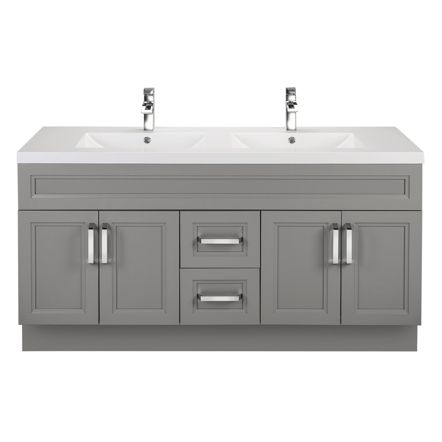 Cutler Kitchen Bath Urban 60 Vanity Double Bowl Wayfair